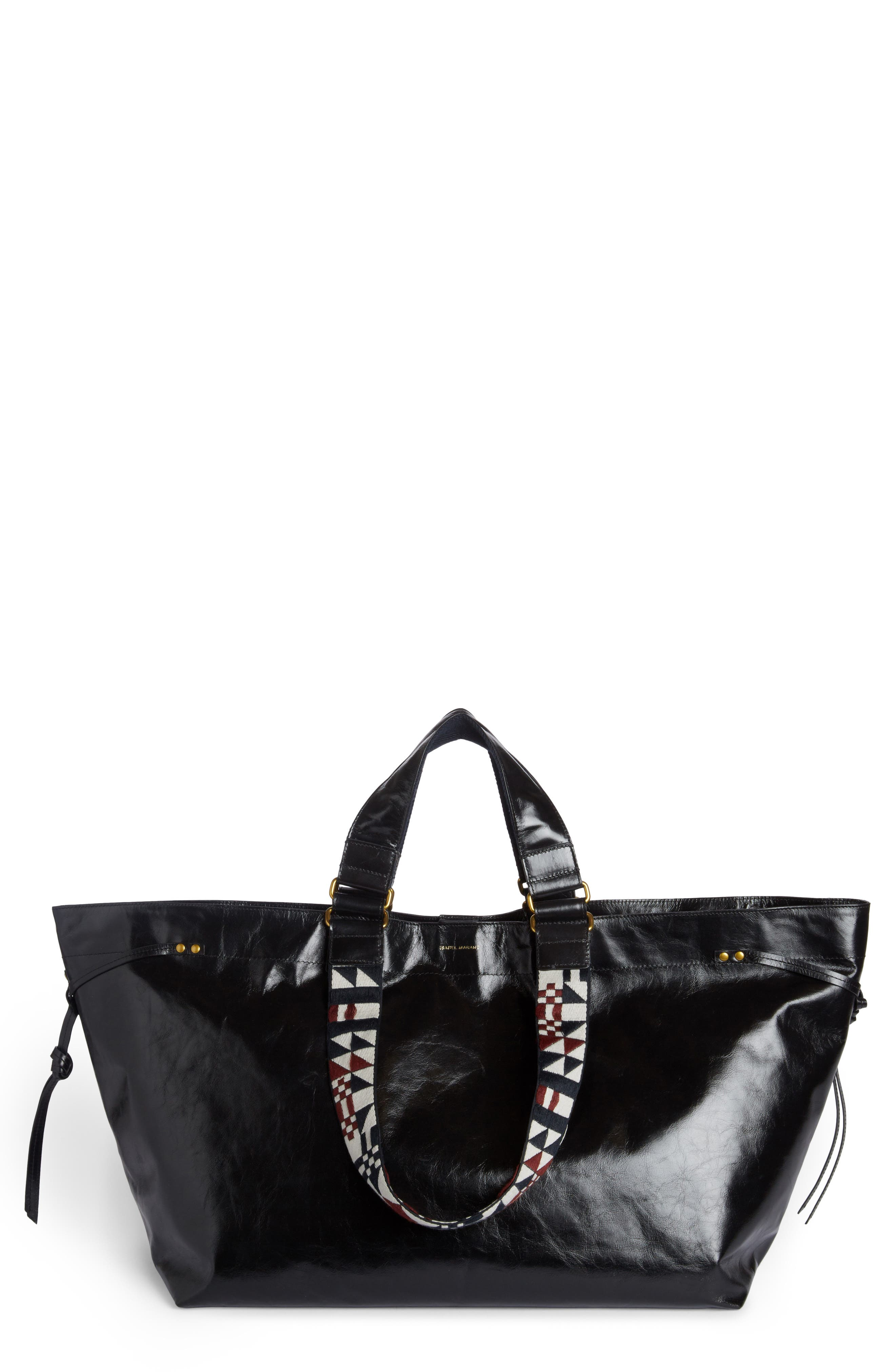 Alternate Image 1 Selected - Isabel Marant Small Bagya Leather Tote