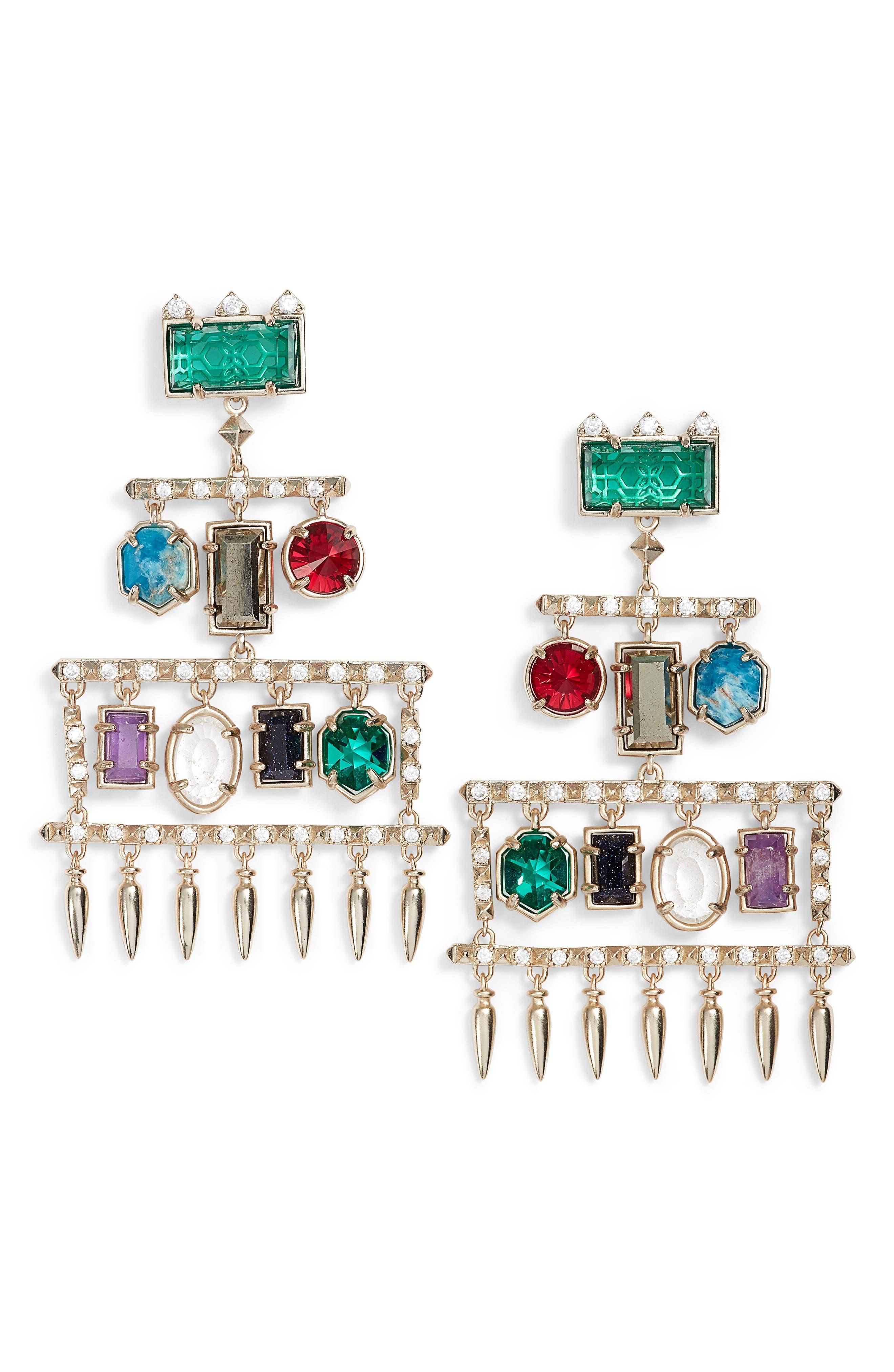Kendra Scott Emmylou Chandelier Earrings