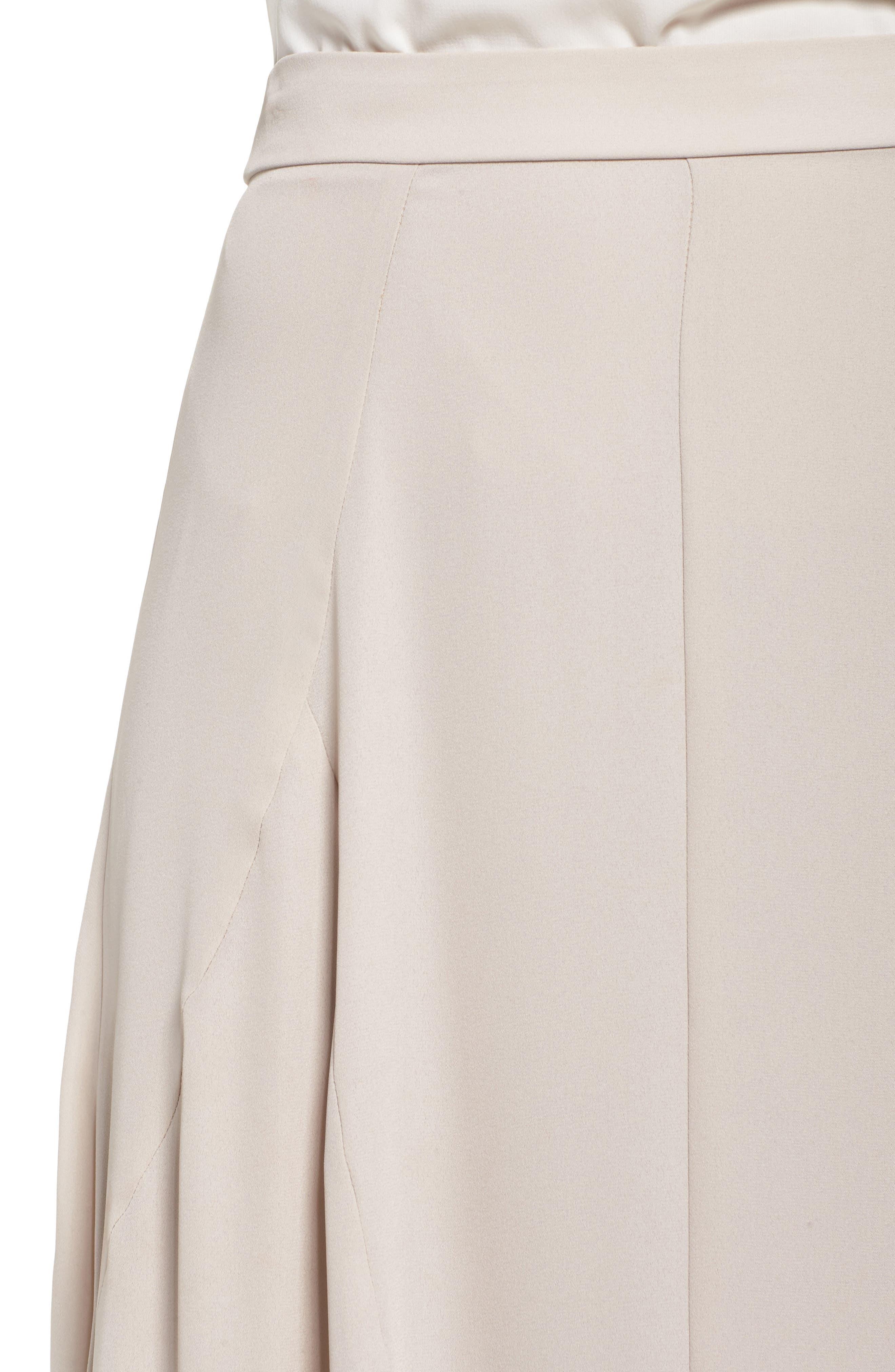 Chiffon Skirt,                             Alternate thumbnail 4, color,                             Show Me The Ring Crisp
