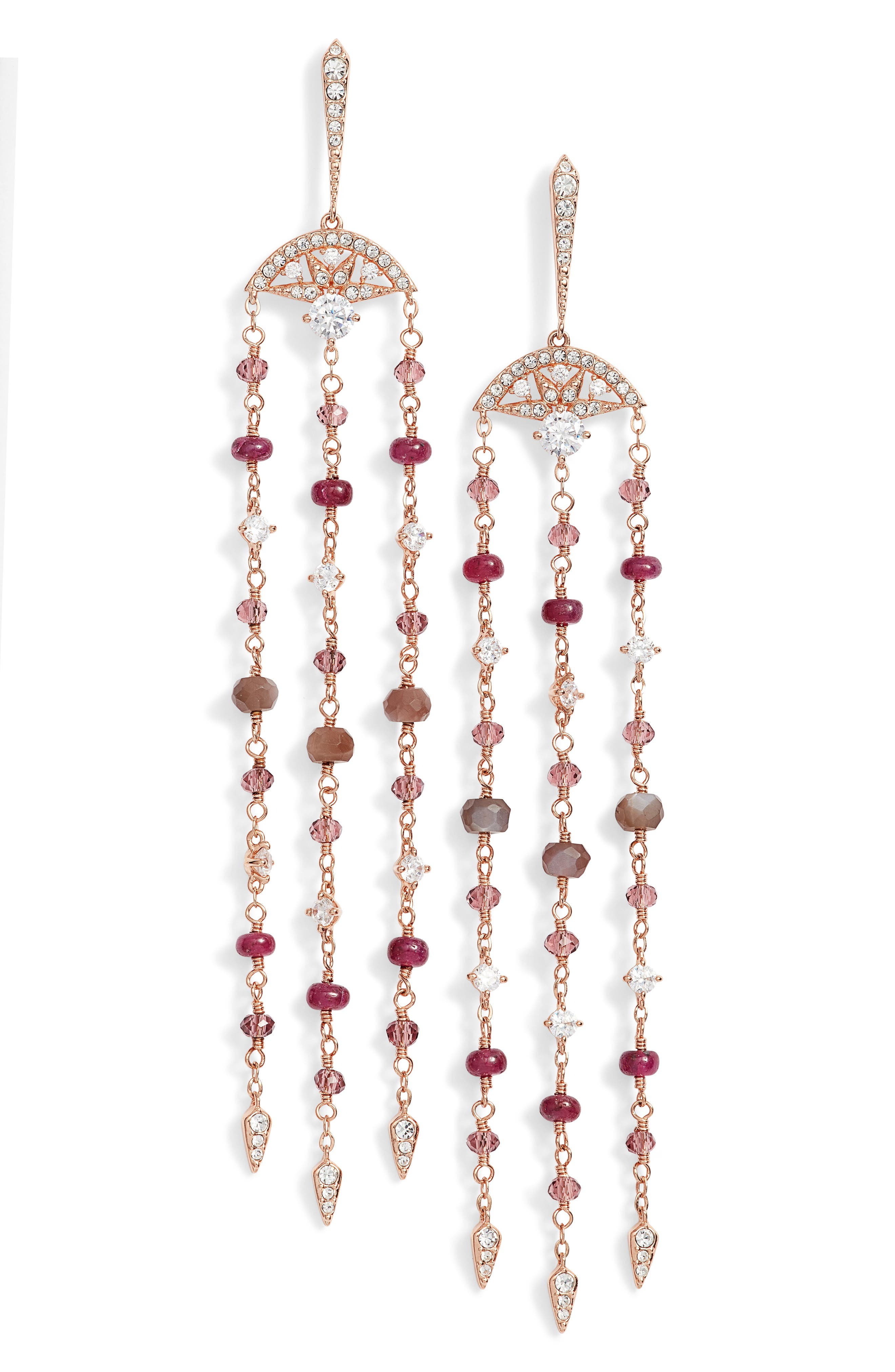 Nadri Fan Drop Earrings