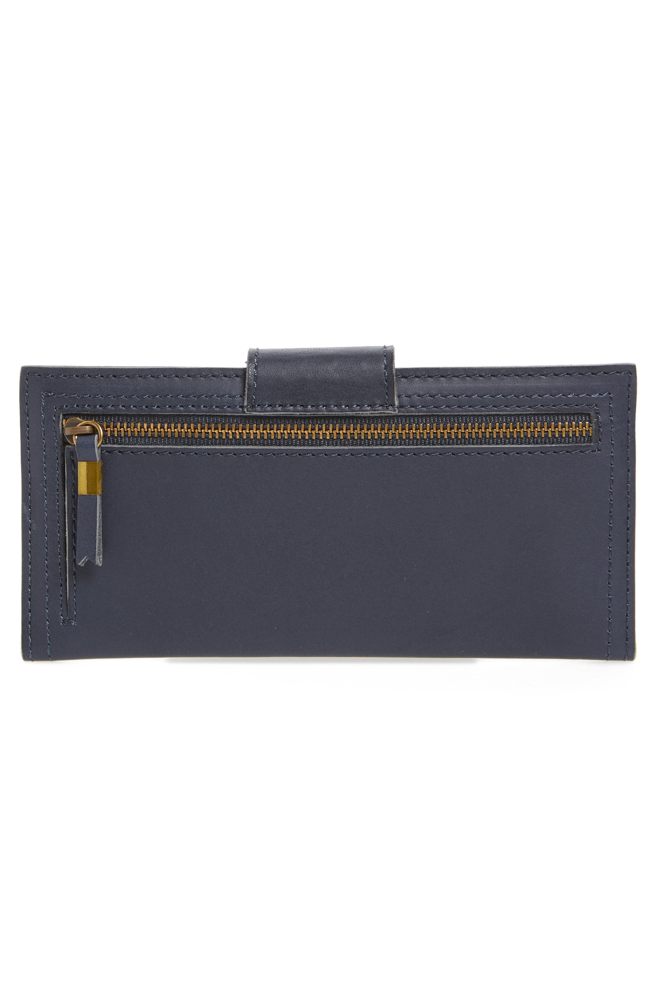 Alternate Image 4  - Madewell The Post Leather Wallet