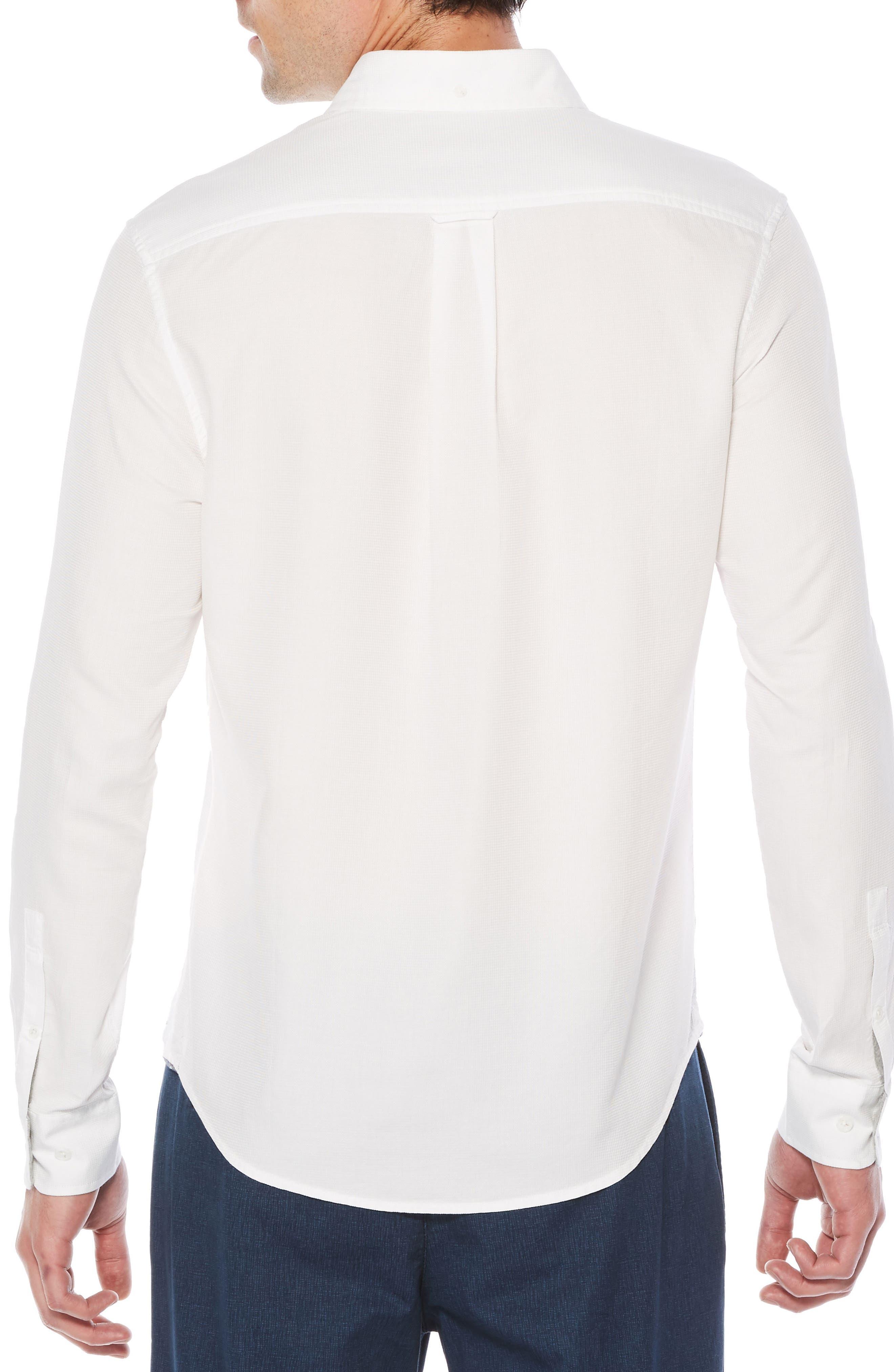 Woven Shirt,                             Alternate thumbnail 2, color,                             Bright White
