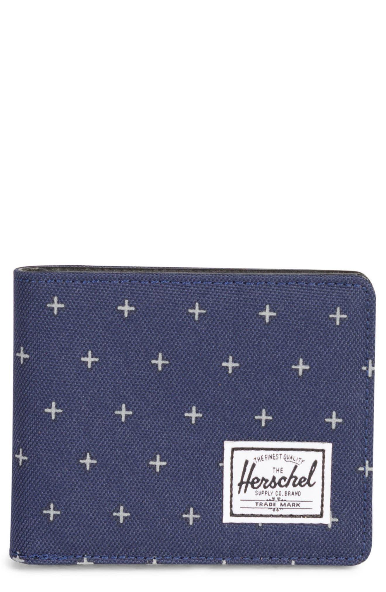 Alternate Image 1 Selected - Herschel Supply Co. Hank RFID Bifold Wallet