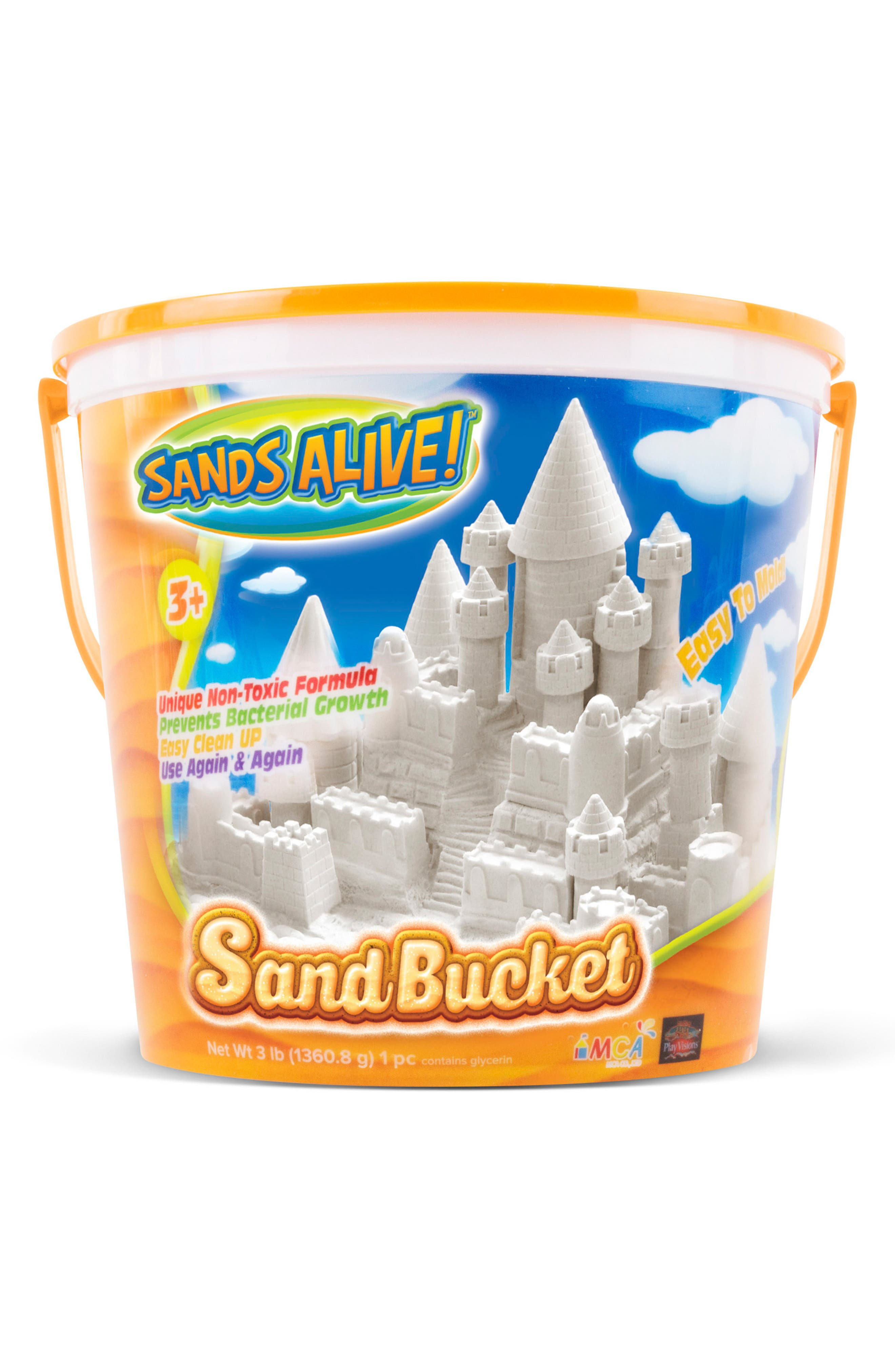 Play Visions Toys Sands Alive! Indoor Sand Bucket
