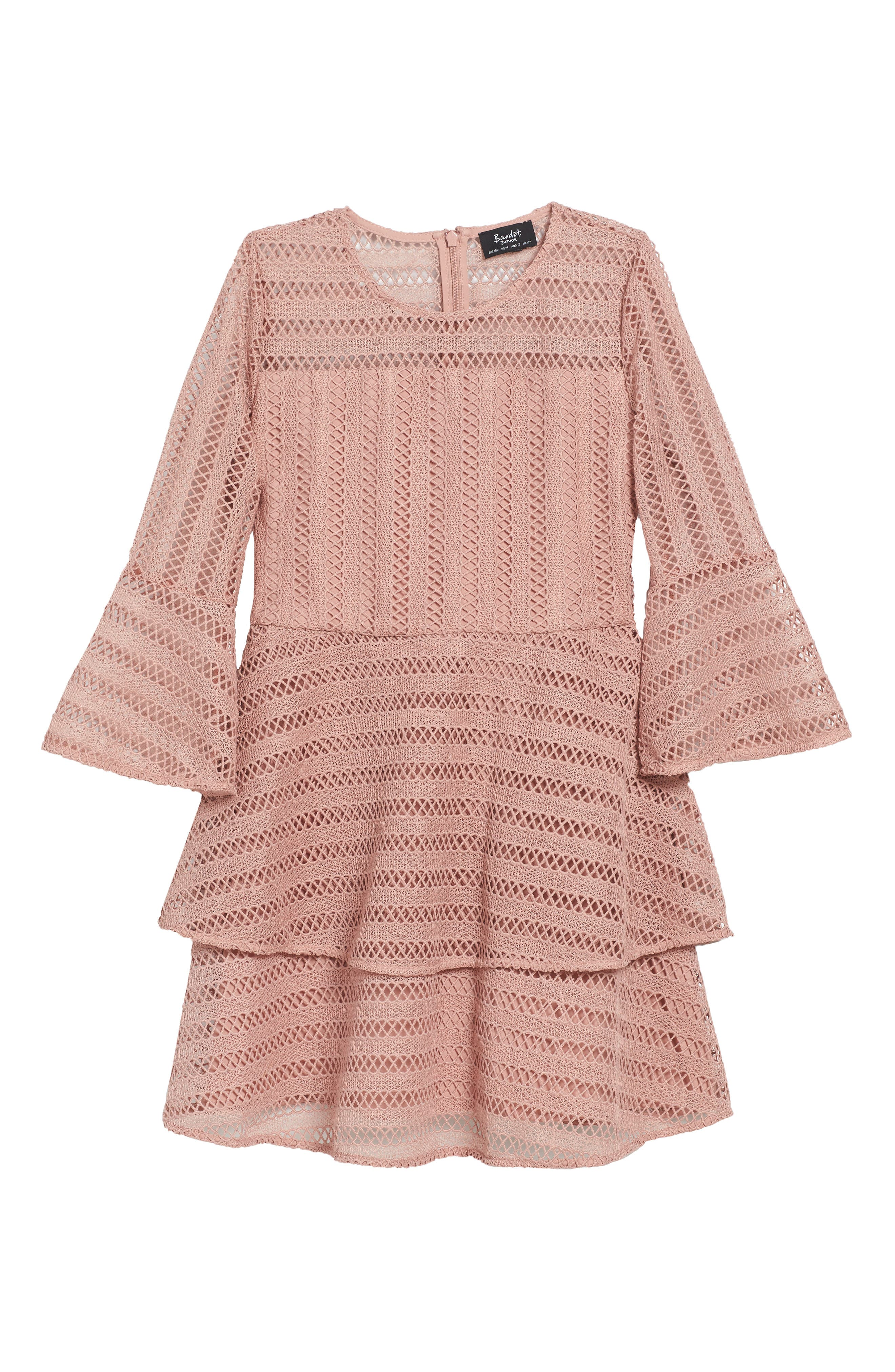 Main Image - Bardot Junior Collins Lace Dress (Big Girls)