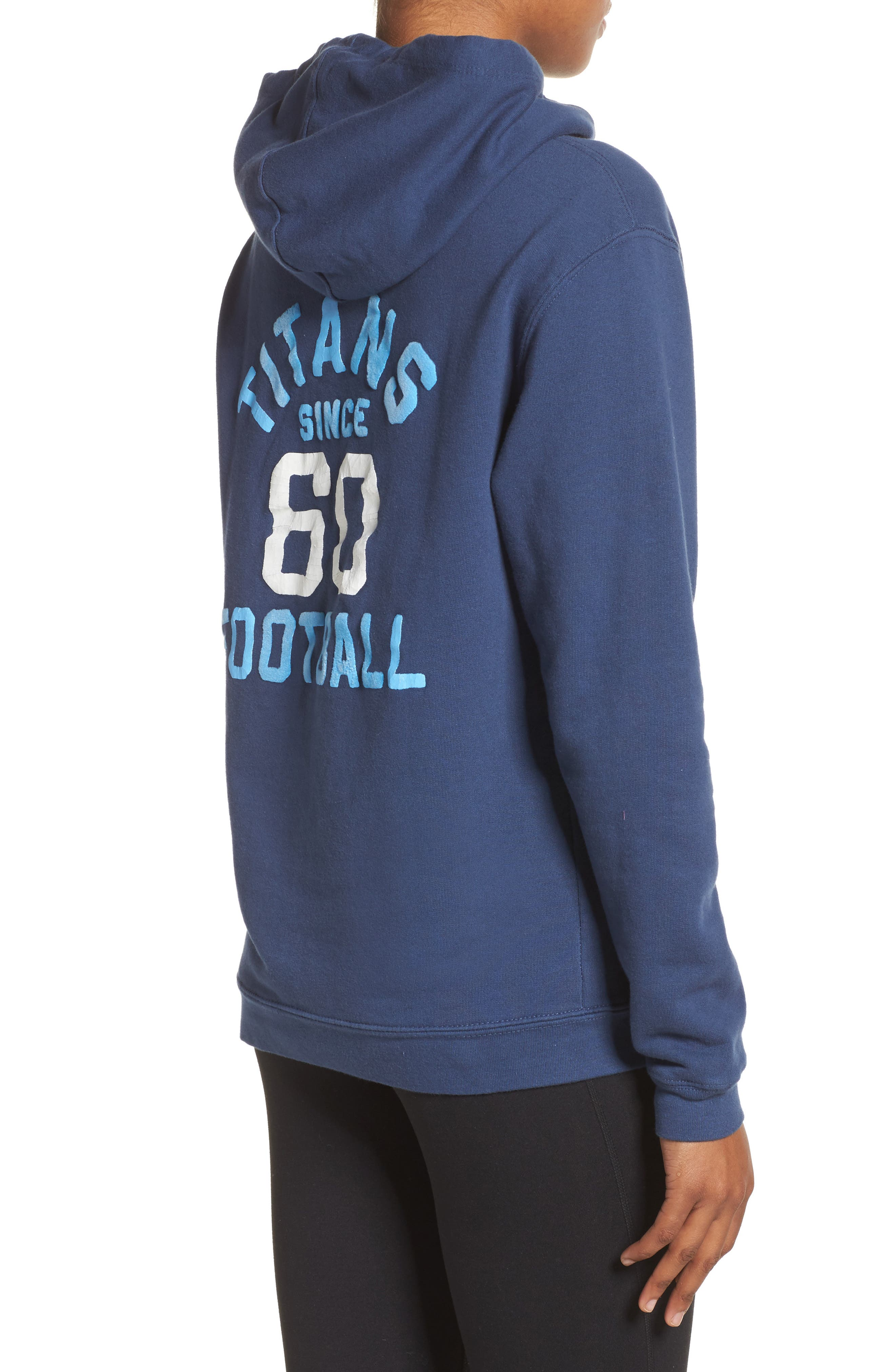 NFL Tennessee Titans Sunday Hoodie,                             Alternate thumbnail 2, color,                             True Navy