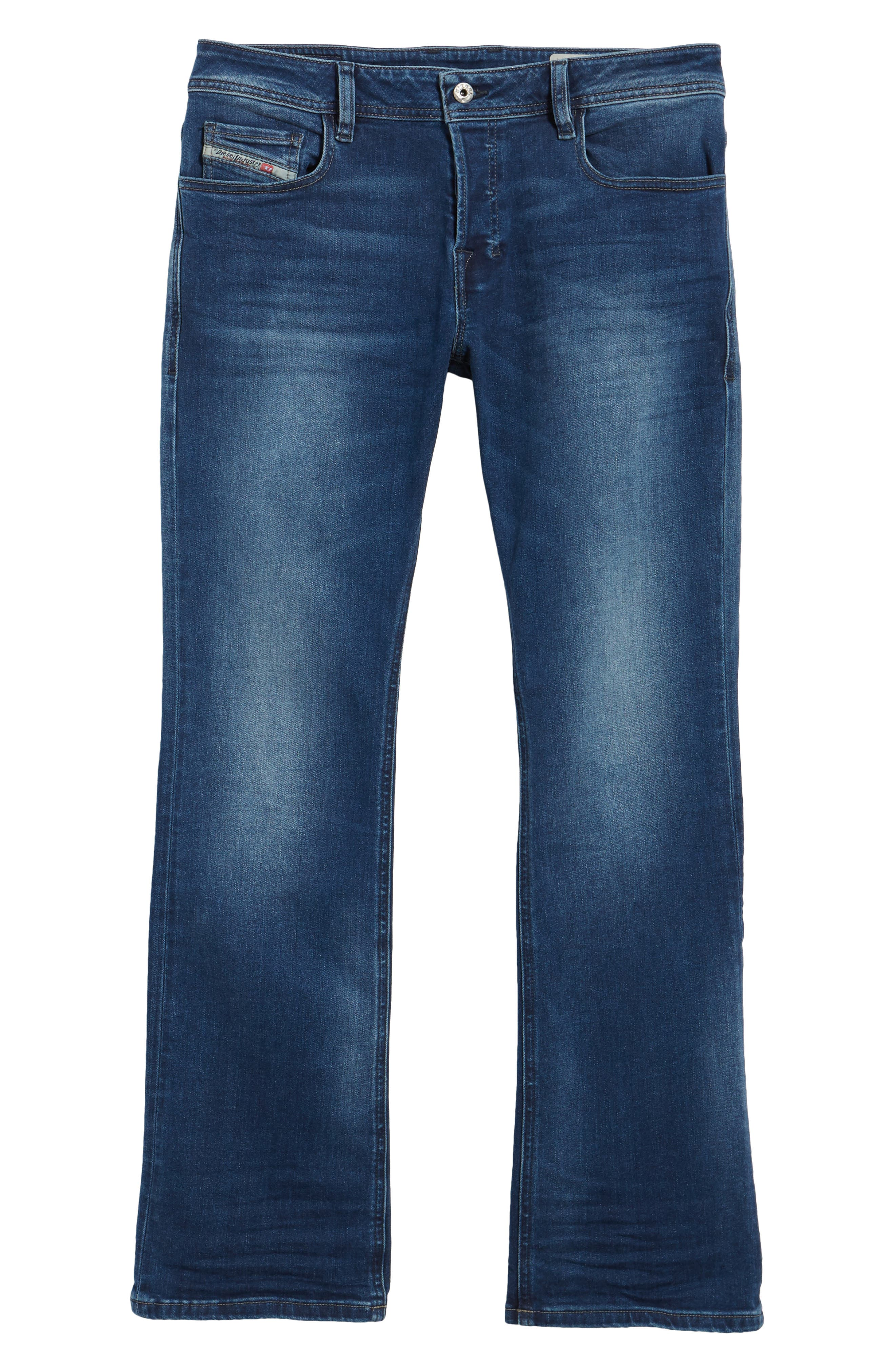 Alternate Image 6  - DIESEL® Zatiny Bootcut Jeans (84HV)