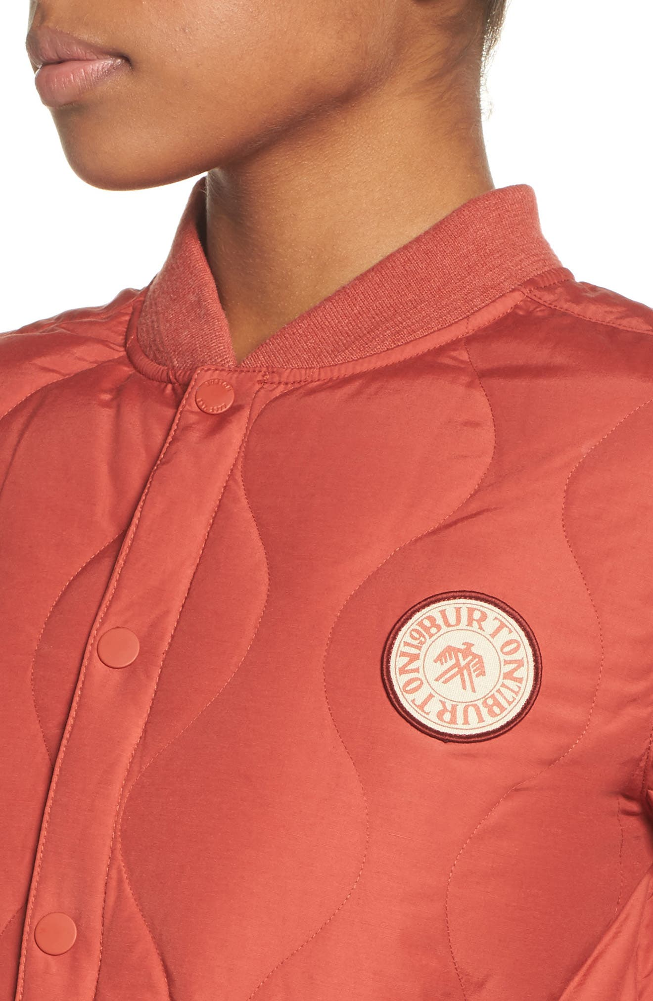 Kiley Quilted Down Insulator Jacket,                             Alternate thumbnail 4, color,                             Bitters
