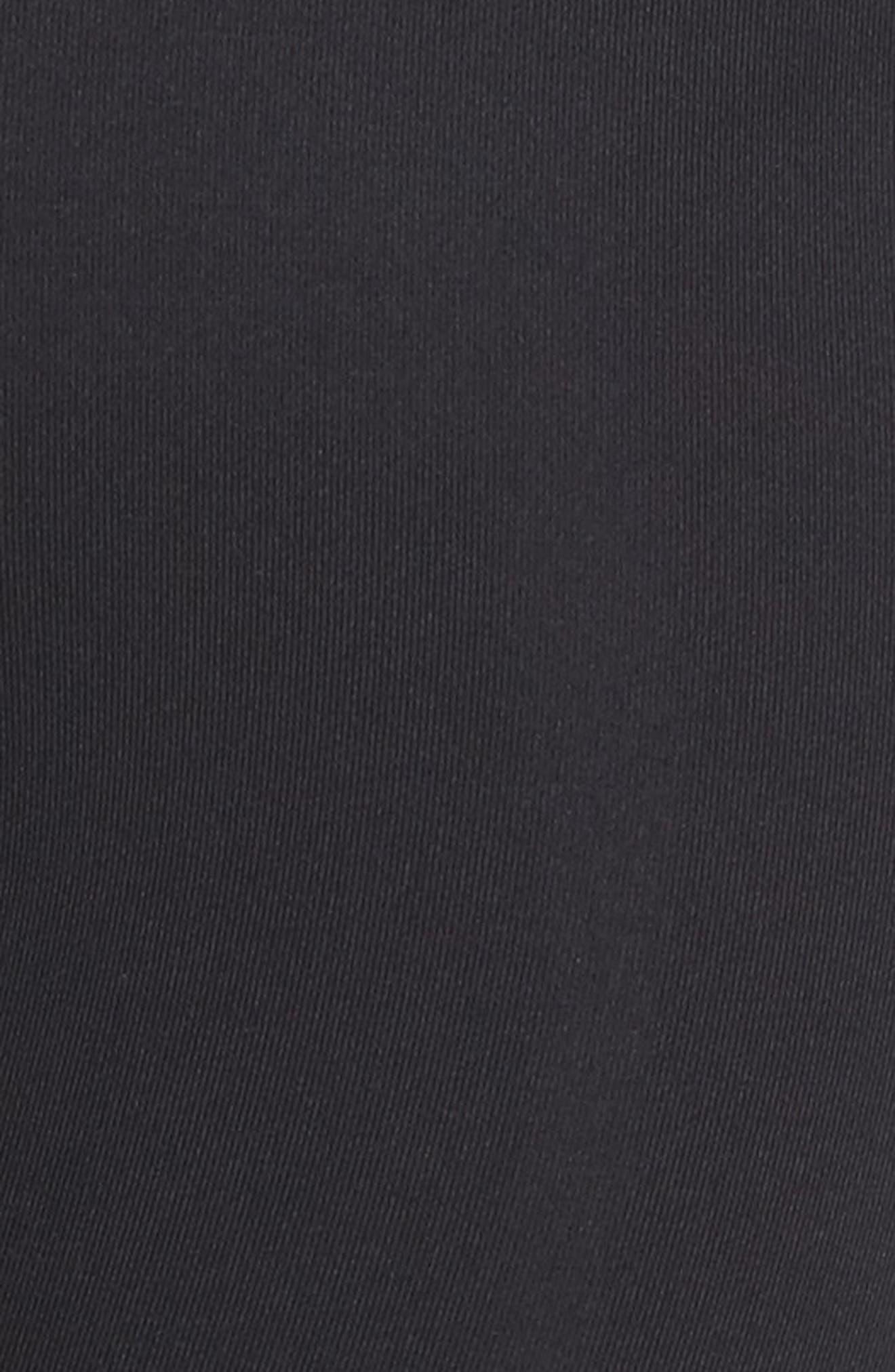 High Waist Asana Light Leggings,                             Alternate thumbnail 6, color,                             Black