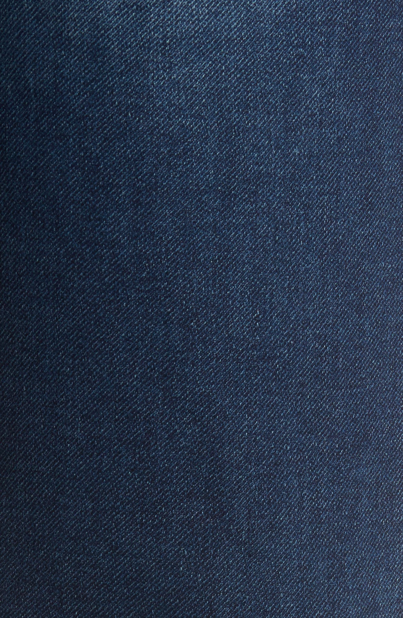 Jimmy Slim Straight Leg Jeans,                             Alternate thumbnail 5, color,                             Talk About Blue