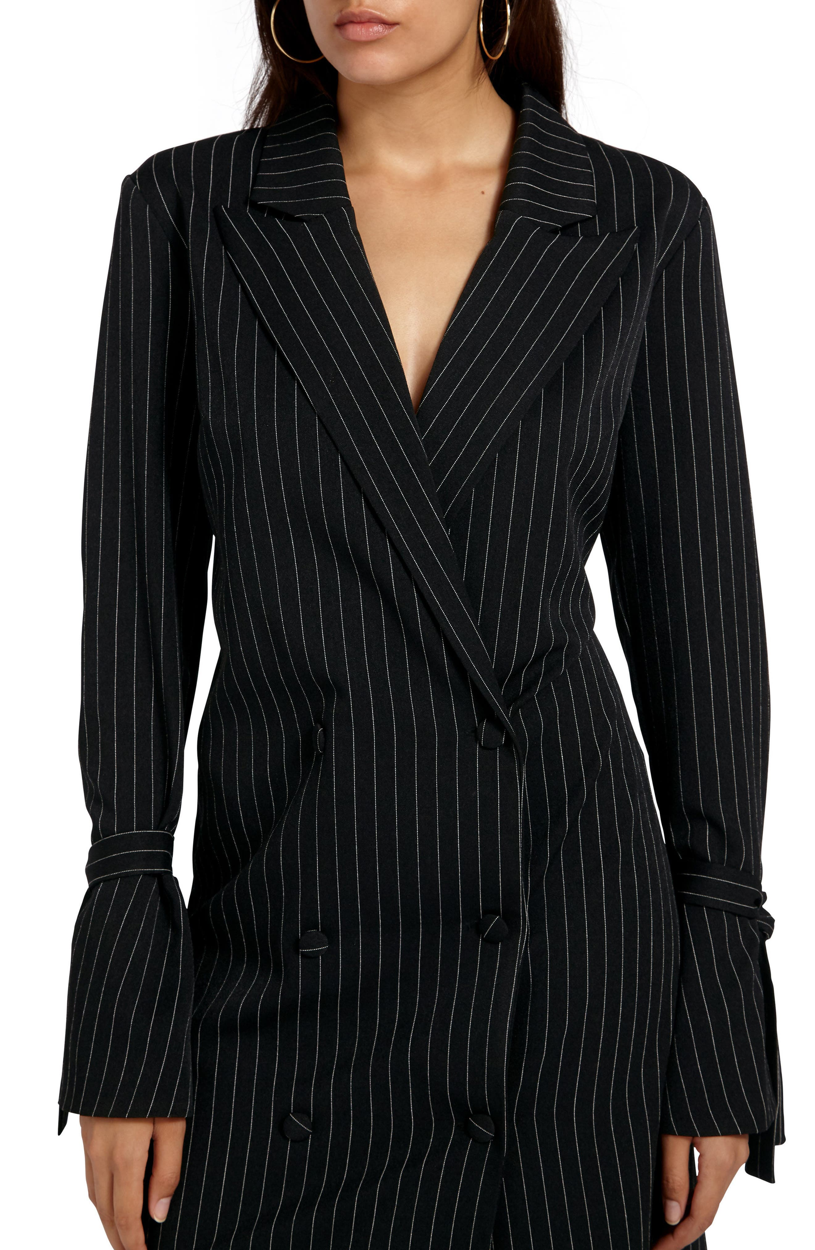 Alternate Image 4  - Missguided Double Breasted Suit Dress