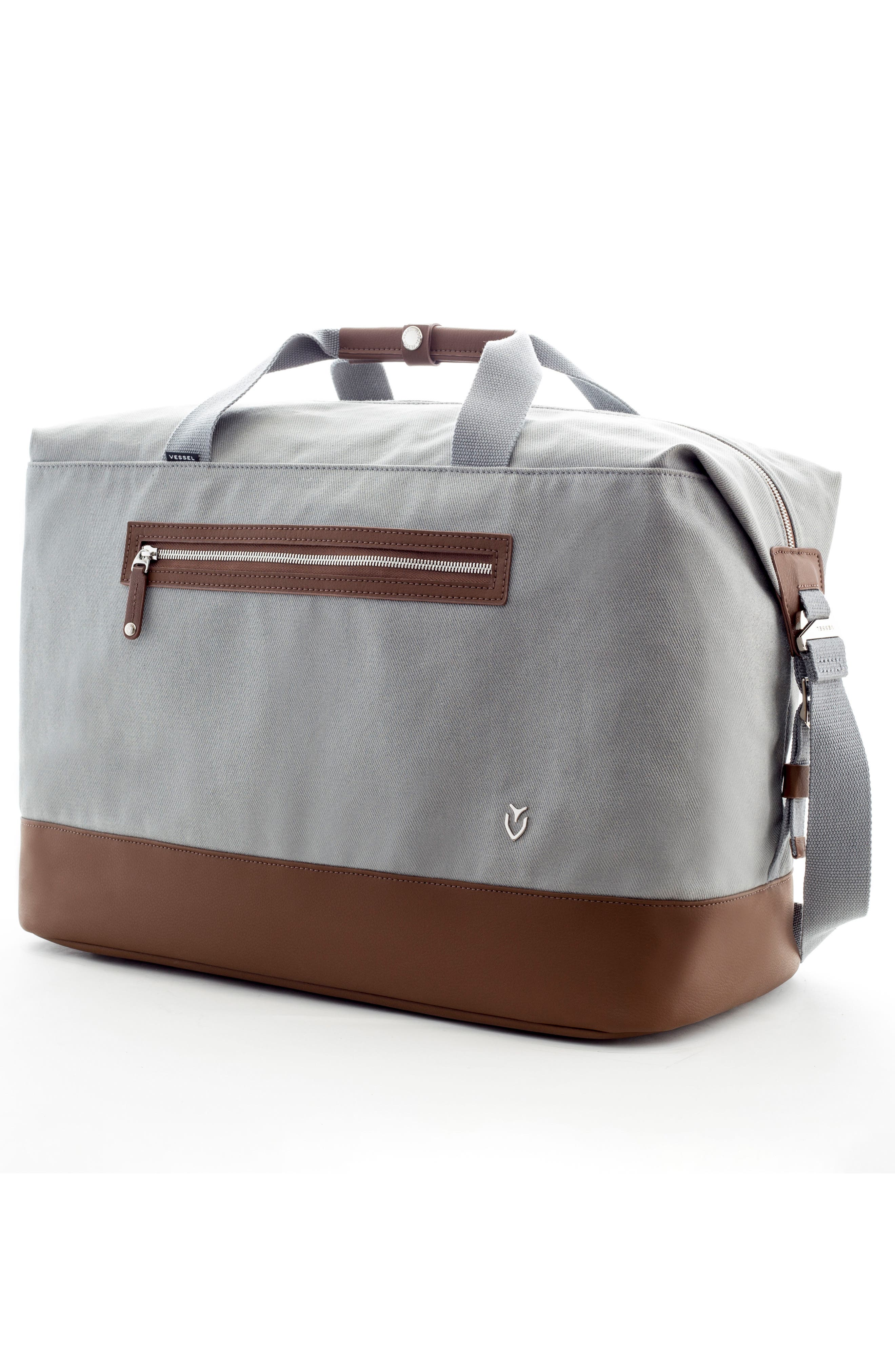 Refined Duffel Bag,                             Alternate thumbnail 3, color,                             Slate