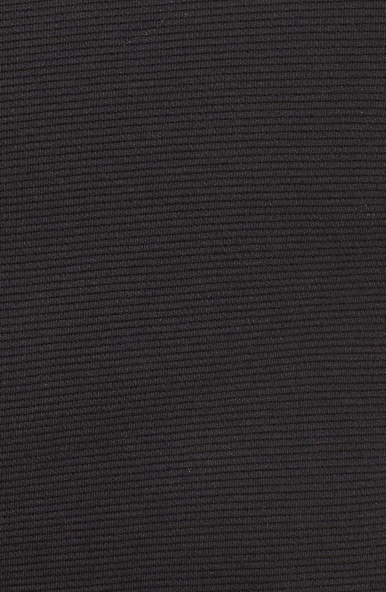Ottoman Moto Jacket,                             Alternate thumbnail 5, color,                             Black