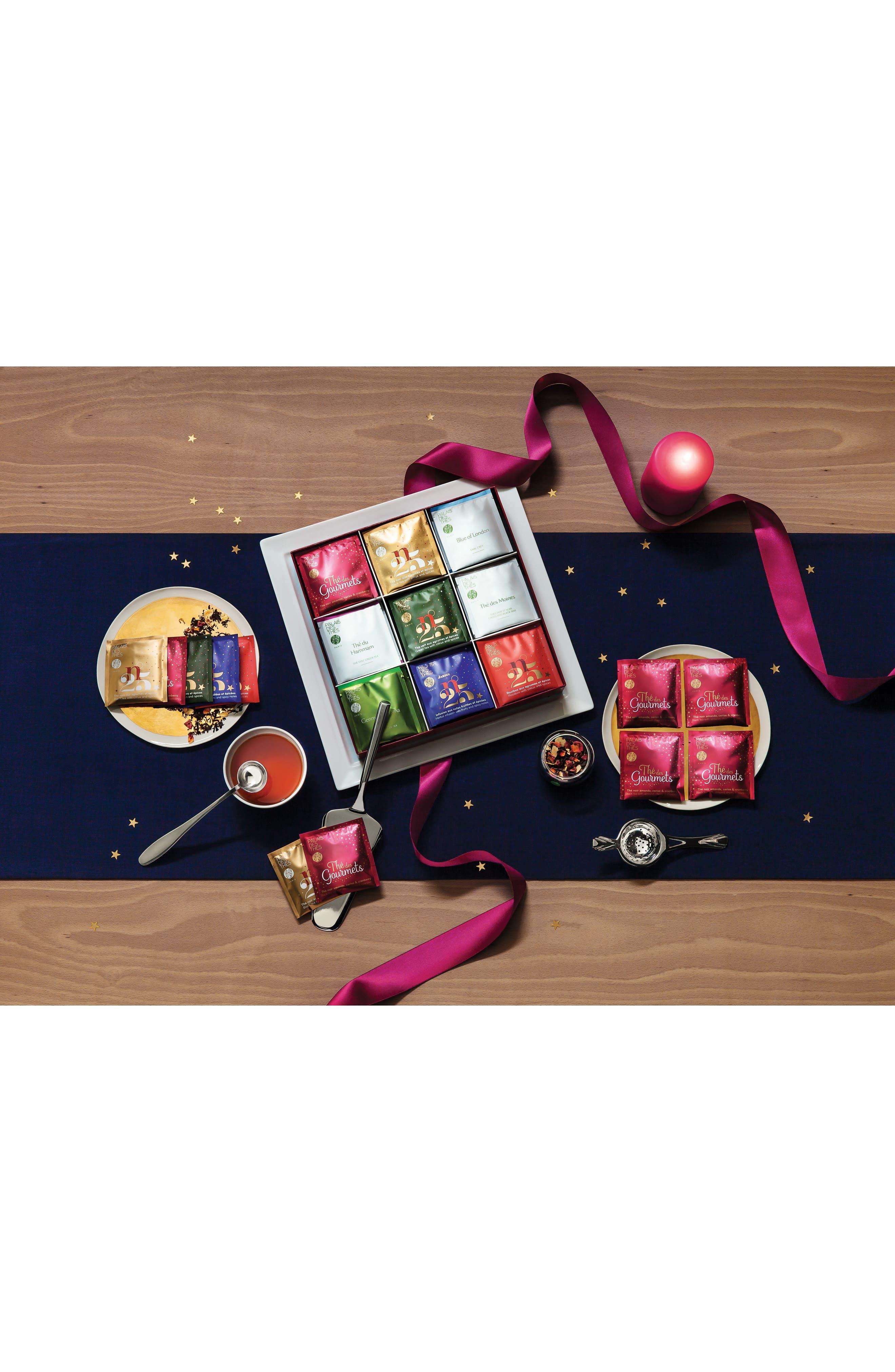 Holiday Tea Assortment,                             Alternate thumbnail 2, color,                             Bordeaux