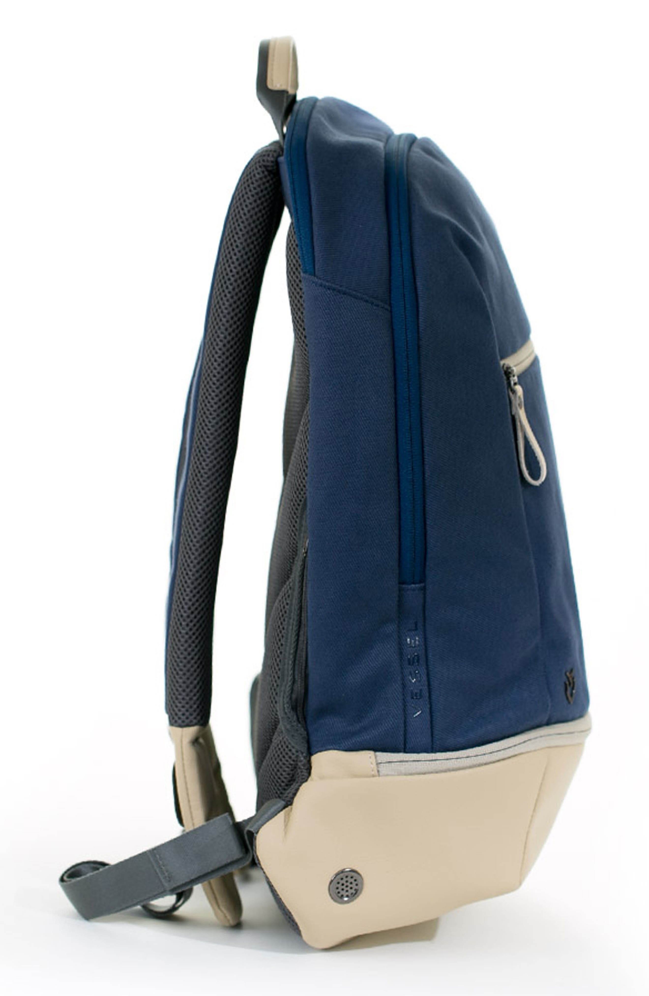Signature Backpack,                             Alternate thumbnail 3, color,                             Navy