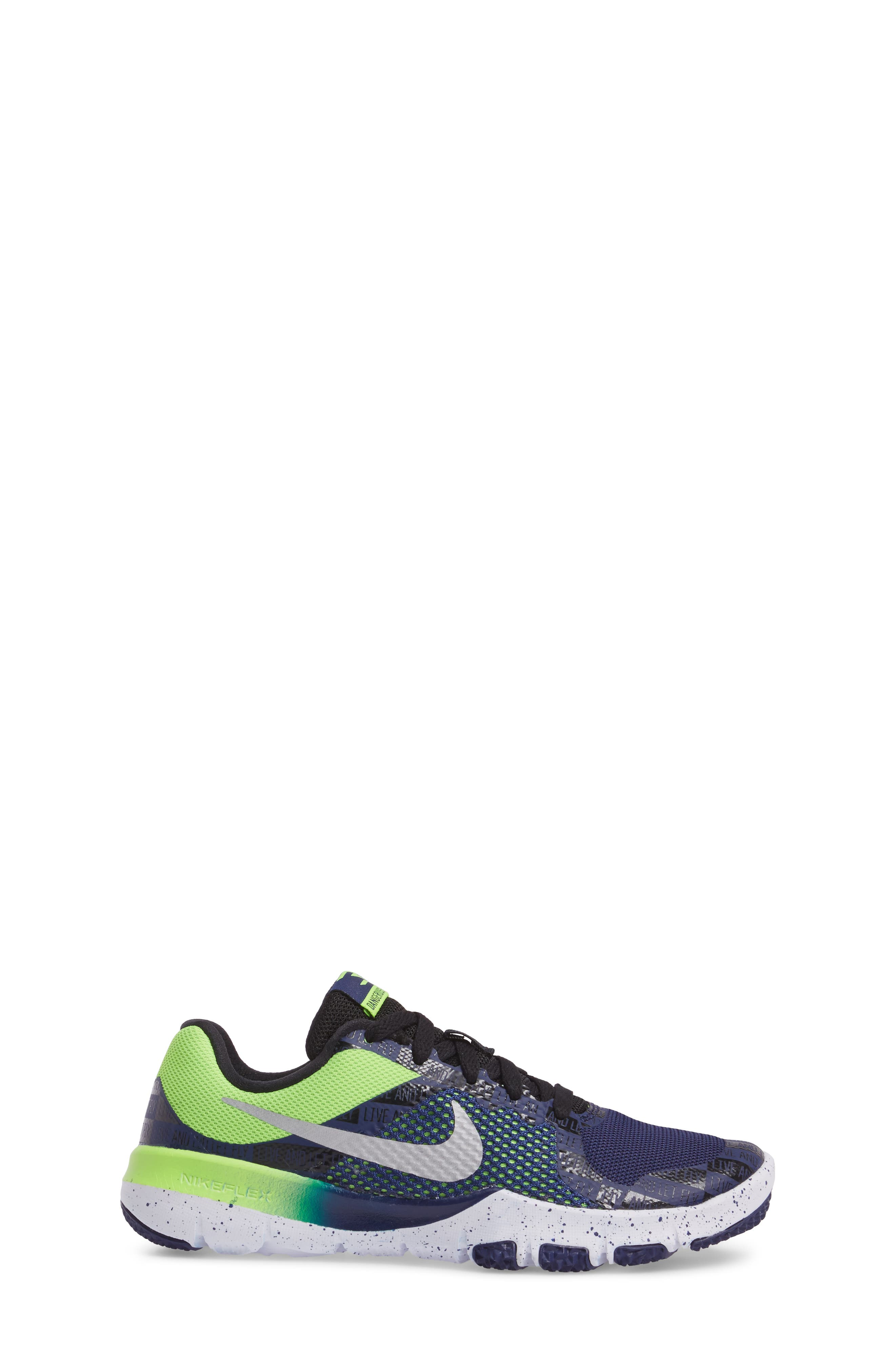 Alternate Image 3  - Nike Flex TR Control Training Shoe (Toddler, Little Kid & Big Kid)