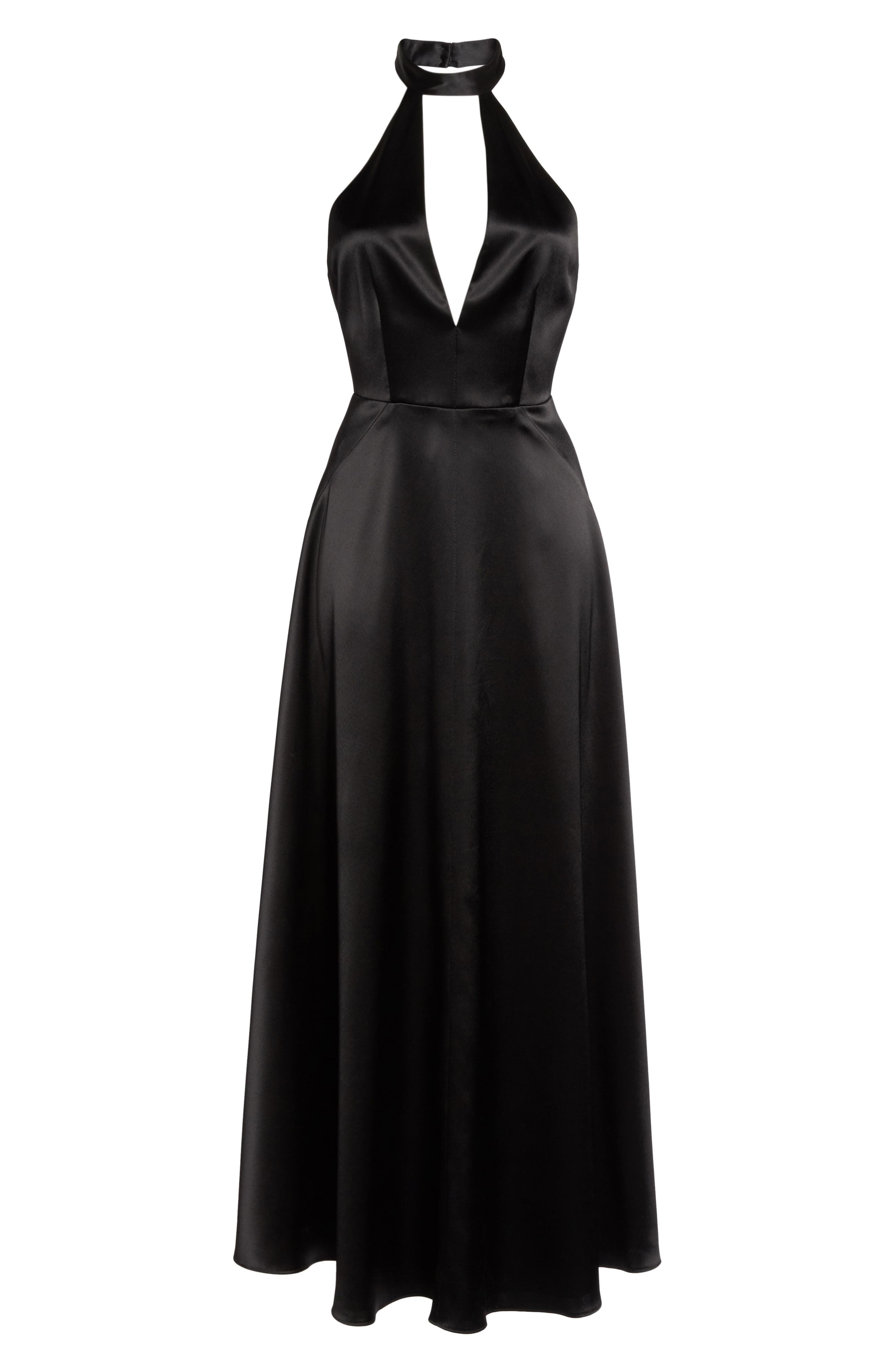 Alternate Image 6  - Jill Jill Stuart Satin Back Crepe Gown