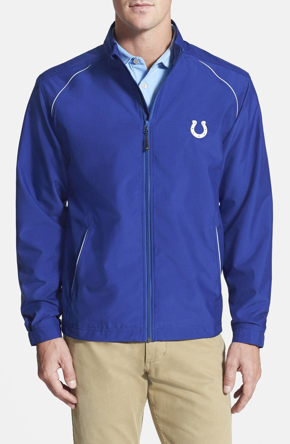 Main Image - Cutter & Buck Indianapolis Colts - Beacon WeatherTec Wind & Water Resistant Jacket