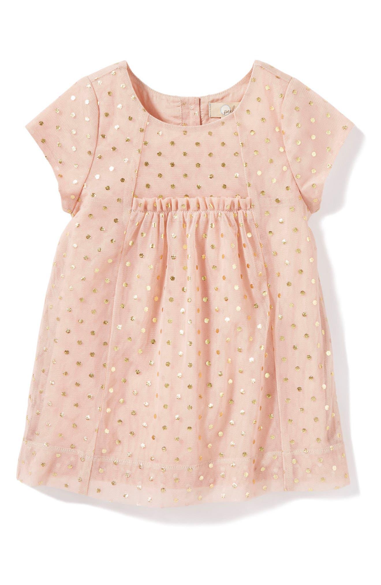 Belle Dress,                         Main,                         color, Pink