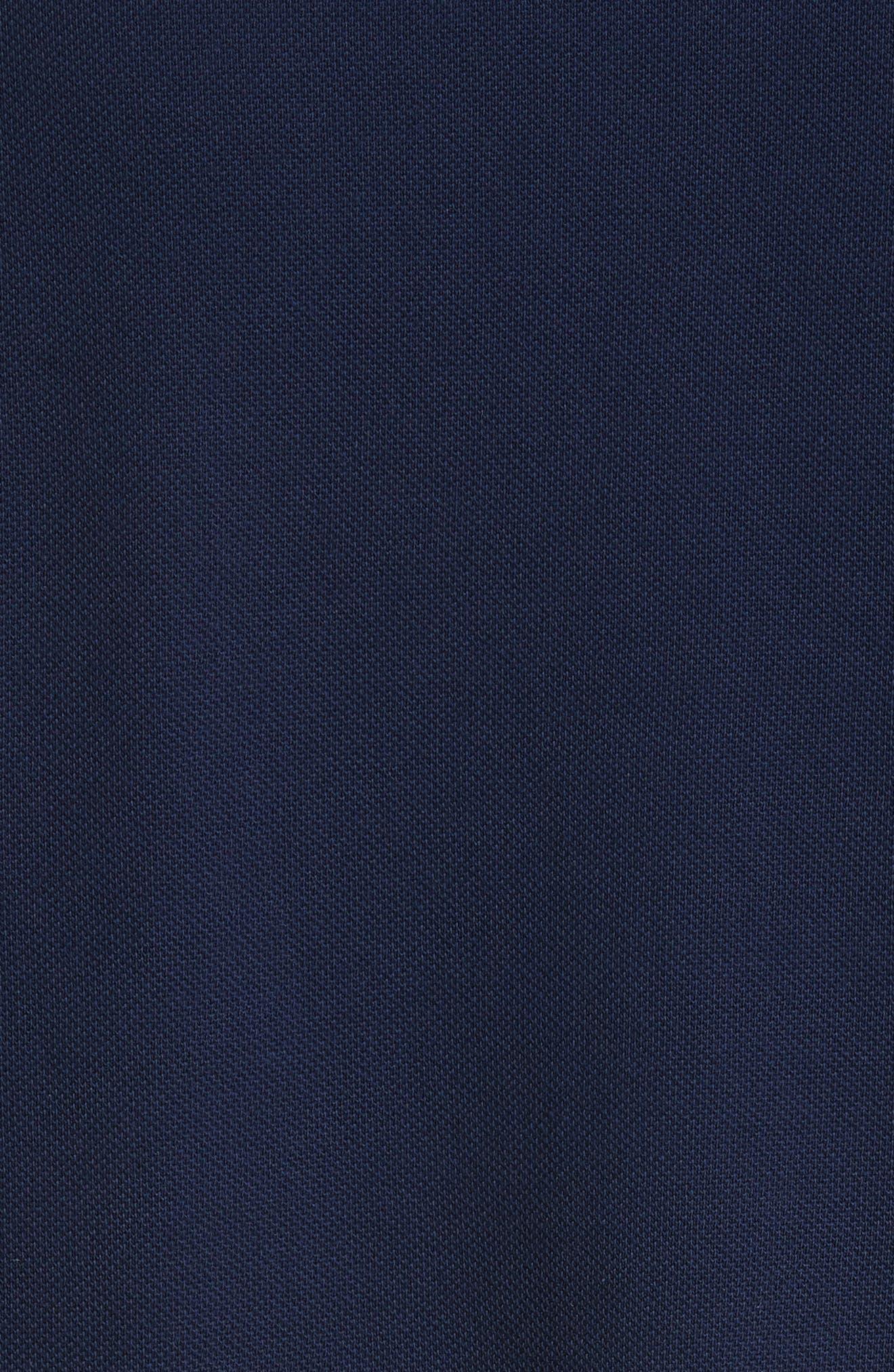 Alternate Image 5  - Moncler Dual Logo Polo Shirt