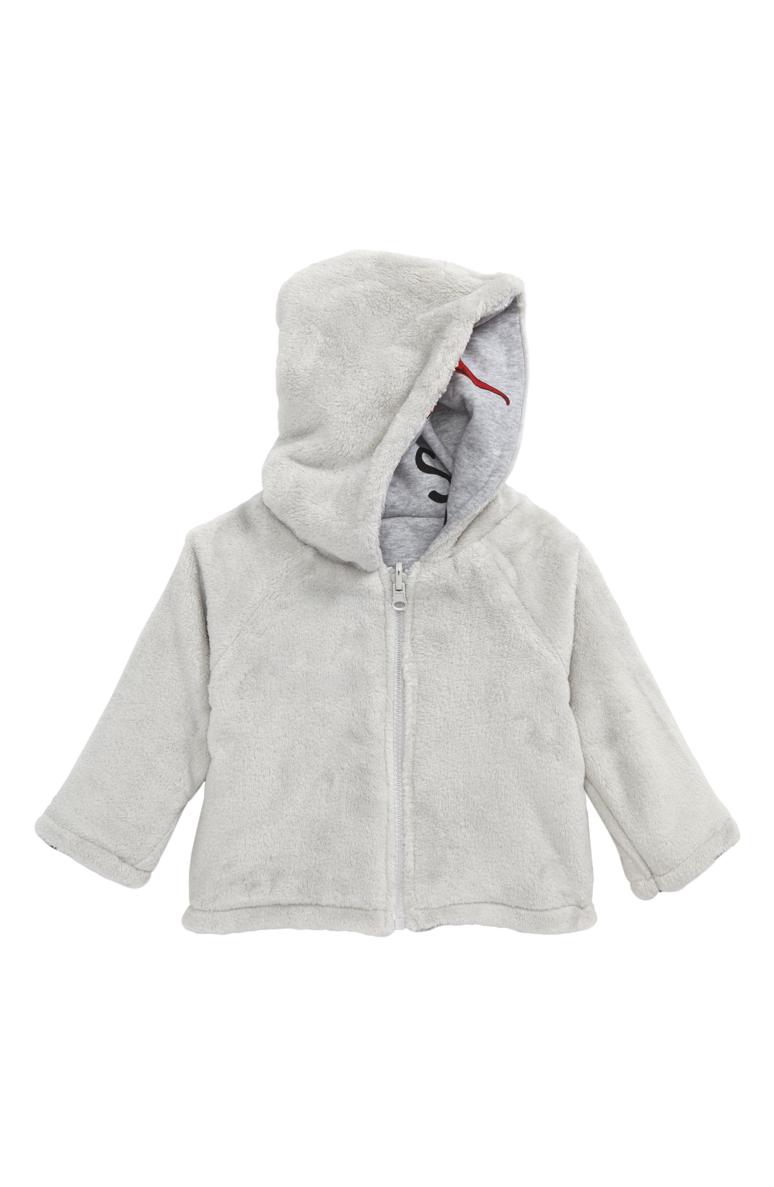 Chilli Reversible Jacket,                             Alternate thumbnail 2, color,                             Grey Marle