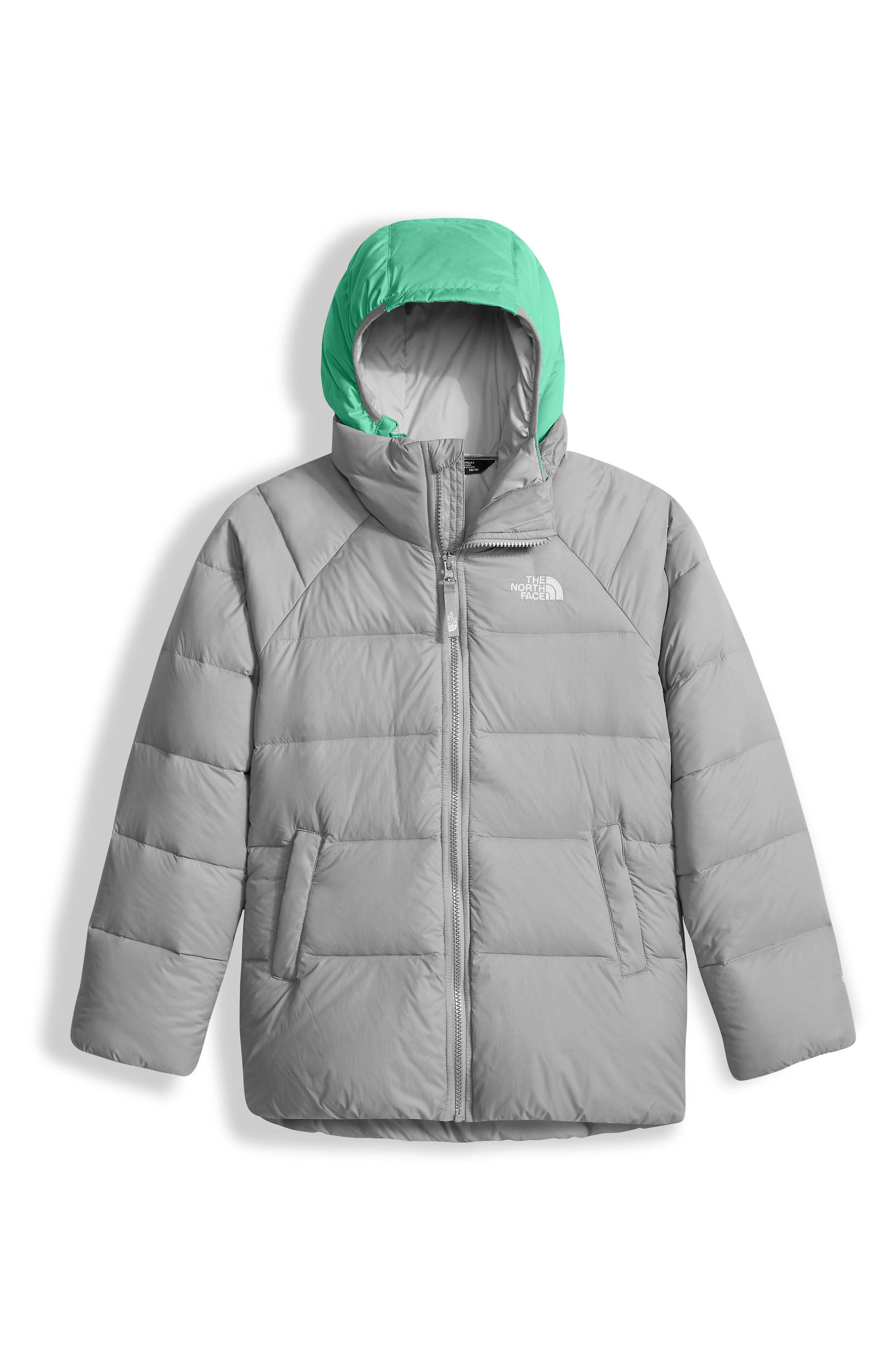 Alternate Image 1 Selected - The North Face Double Down TriClimate® 3-in-1 Jacket (Little Girls & Big Girls)