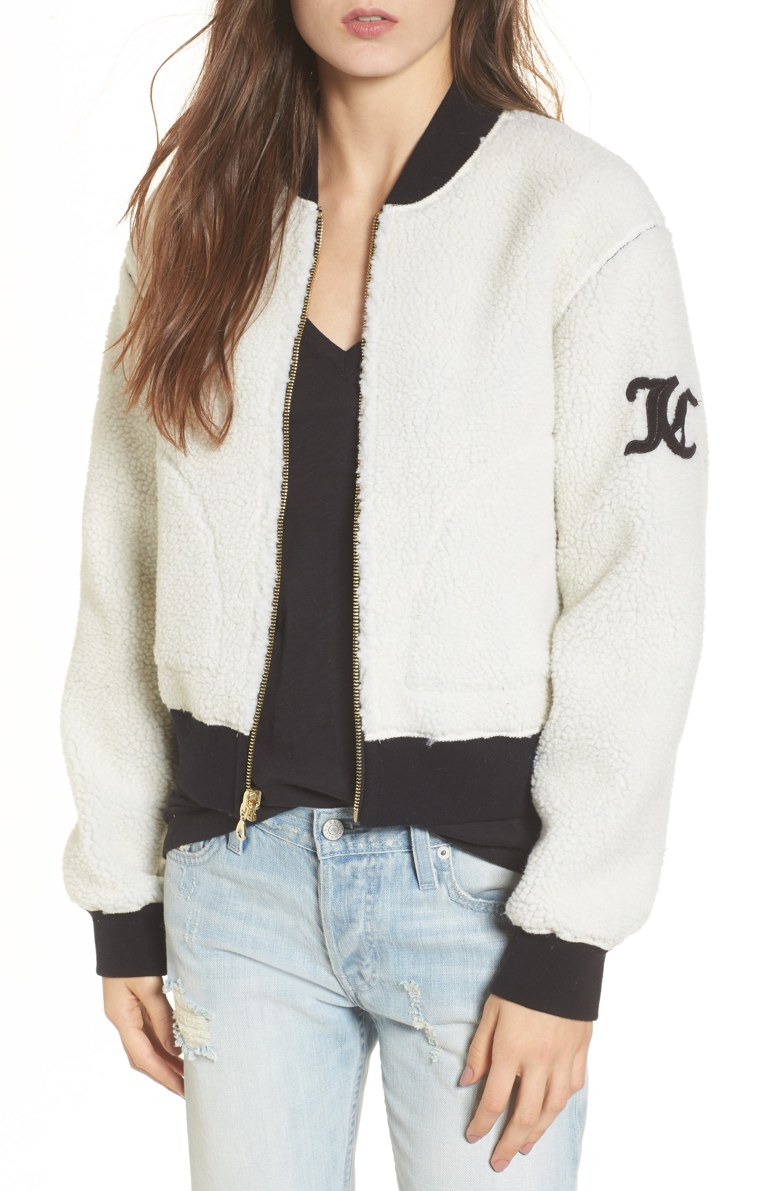 Alternate Image 1 Selected - Juicy Couture Reversible Track Jacket