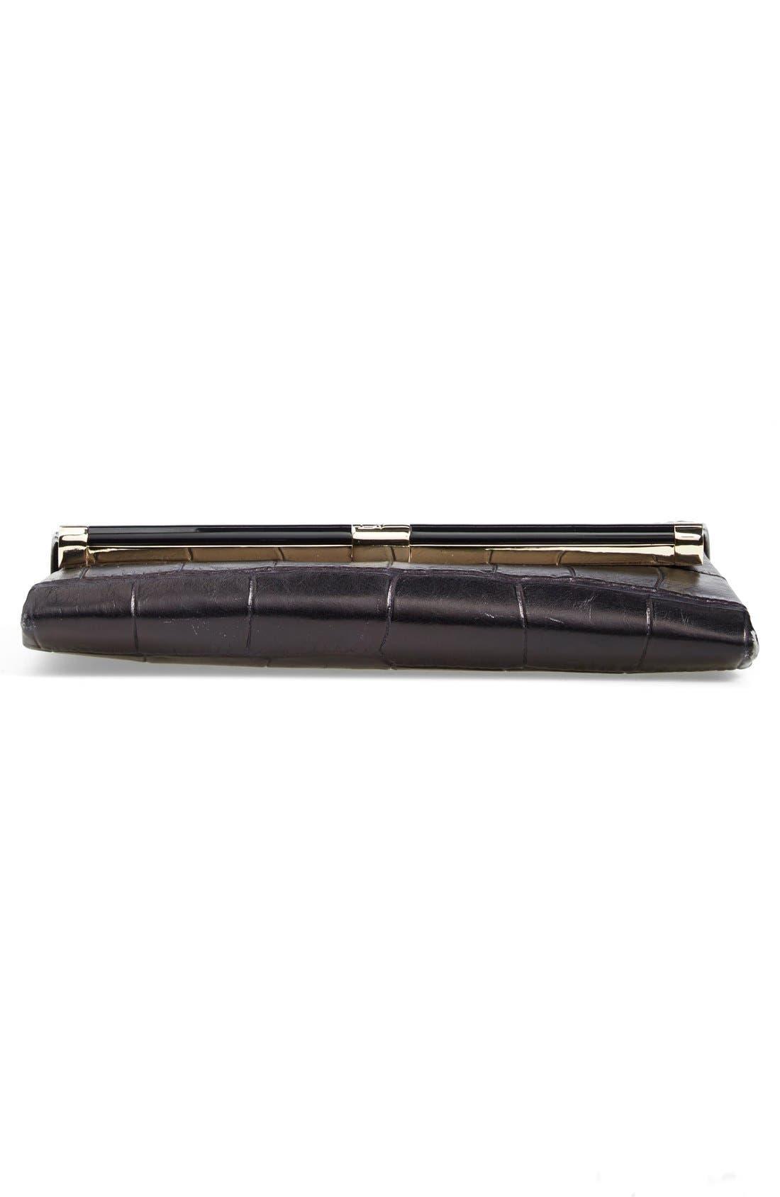Alternate Image 5  - Diane von Furstenberg '440' Croc-Embossed Leather Envelope Clutch