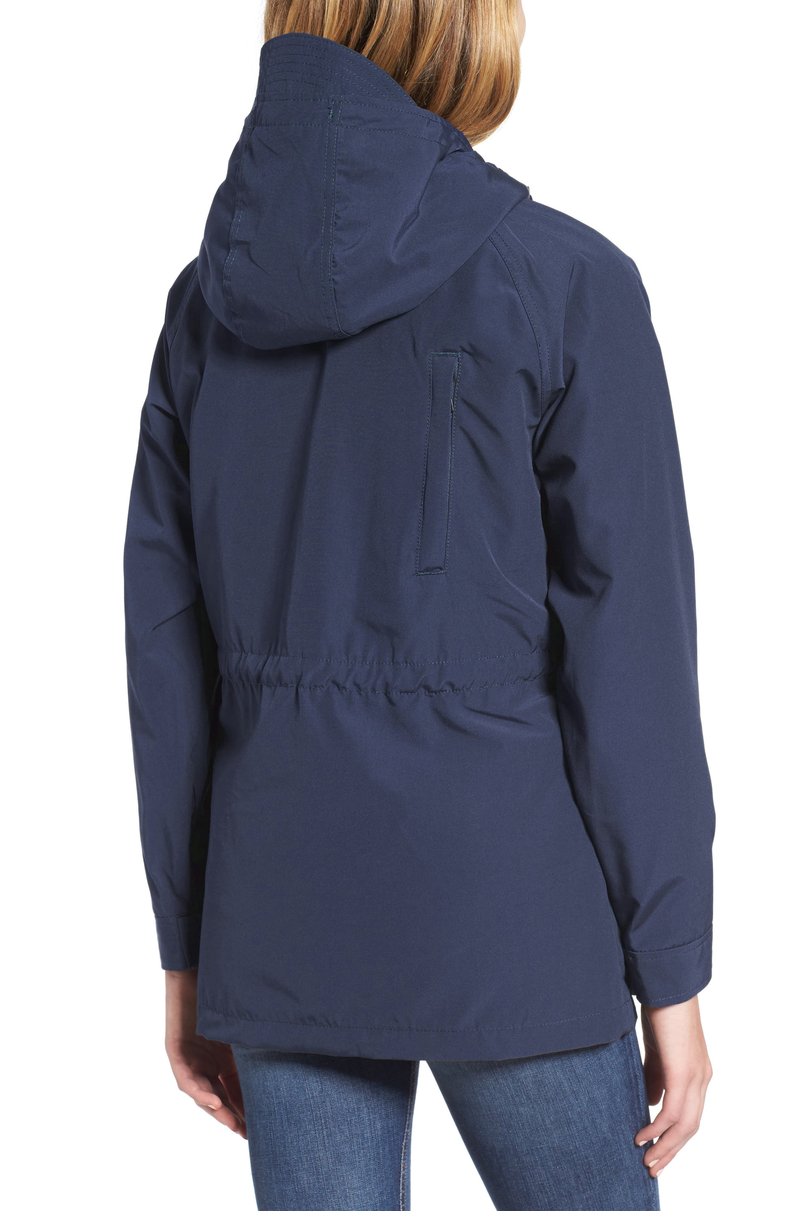 'Kasson' Double Layer Mountain Parka,                             Alternate thumbnail 2, color,                             Navy