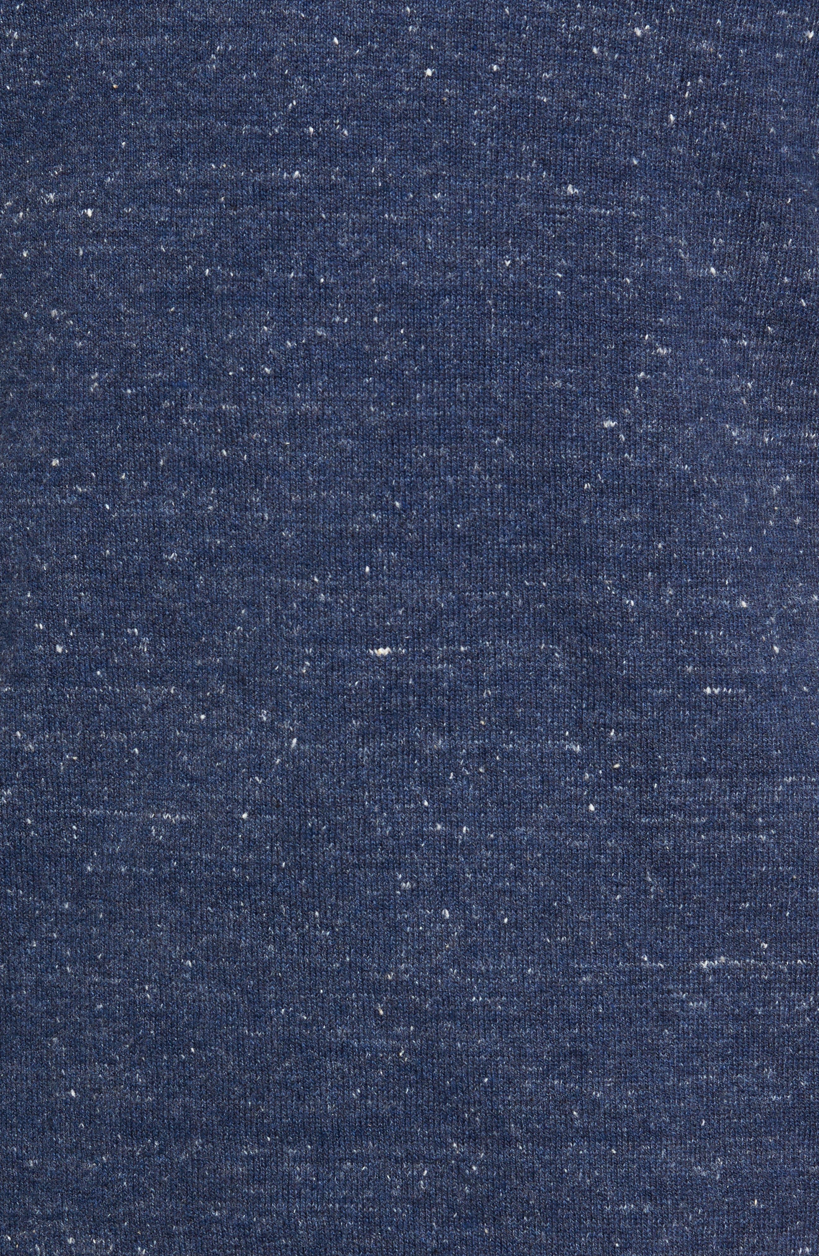 Quarter Zip Sweater,                             Alternate thumbnail 5, color,                             Blue Twilight Marl