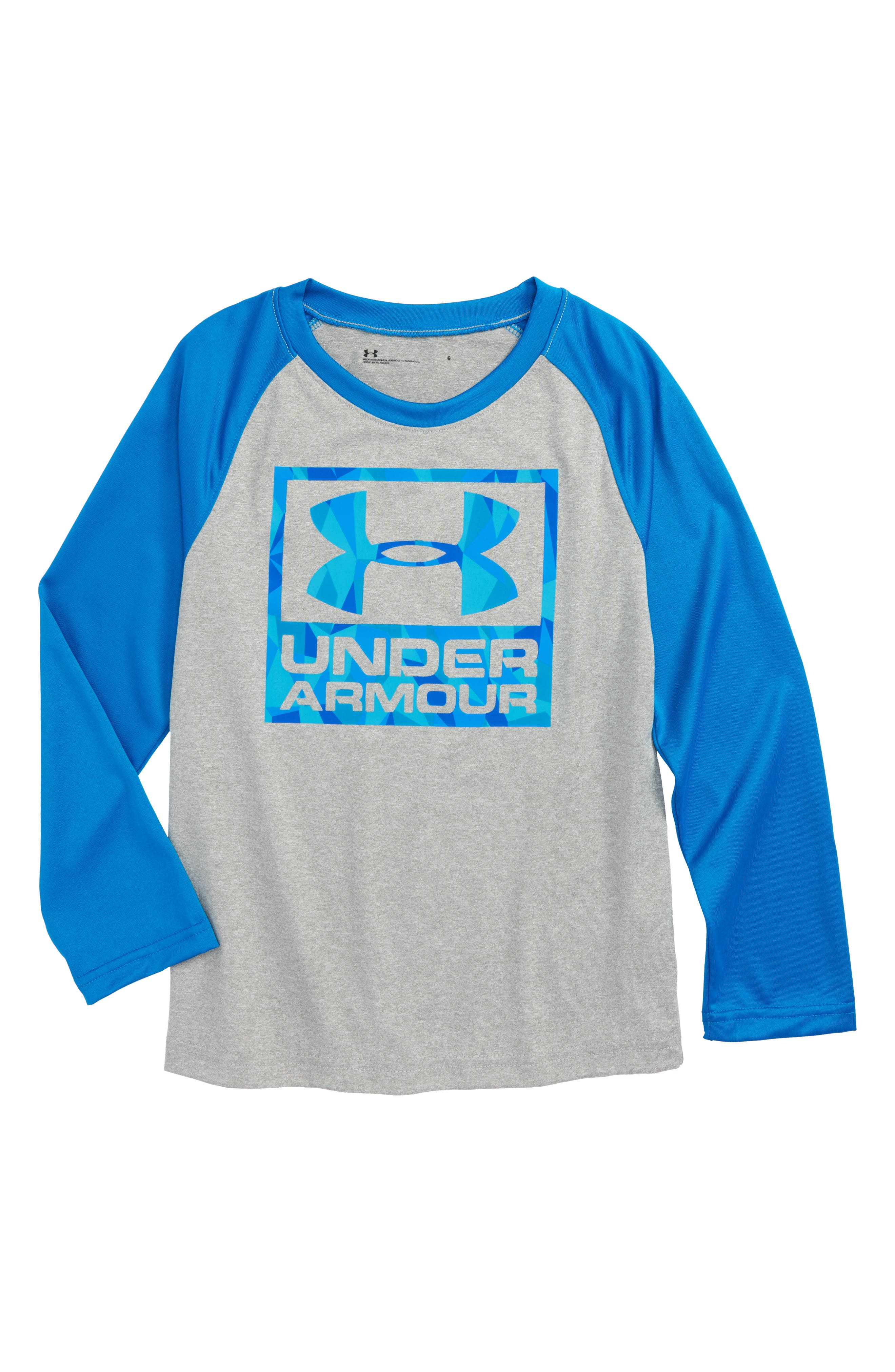 Under Armour Geo Cache Long Sleeve Raglan T-Shirt (Toddler Boys & Little Boys)