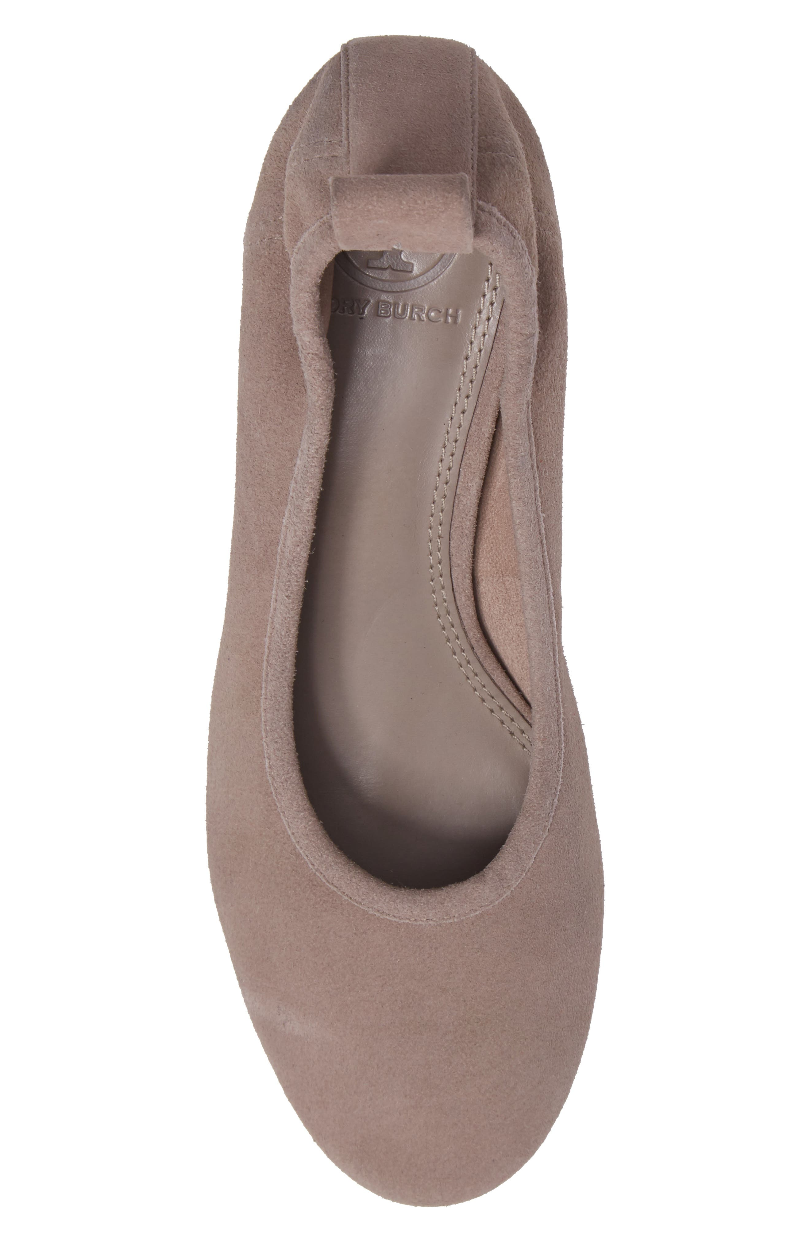 Therese Statement Heel Pump,                             Alternate thumbnail 5, color,                             Duststorm