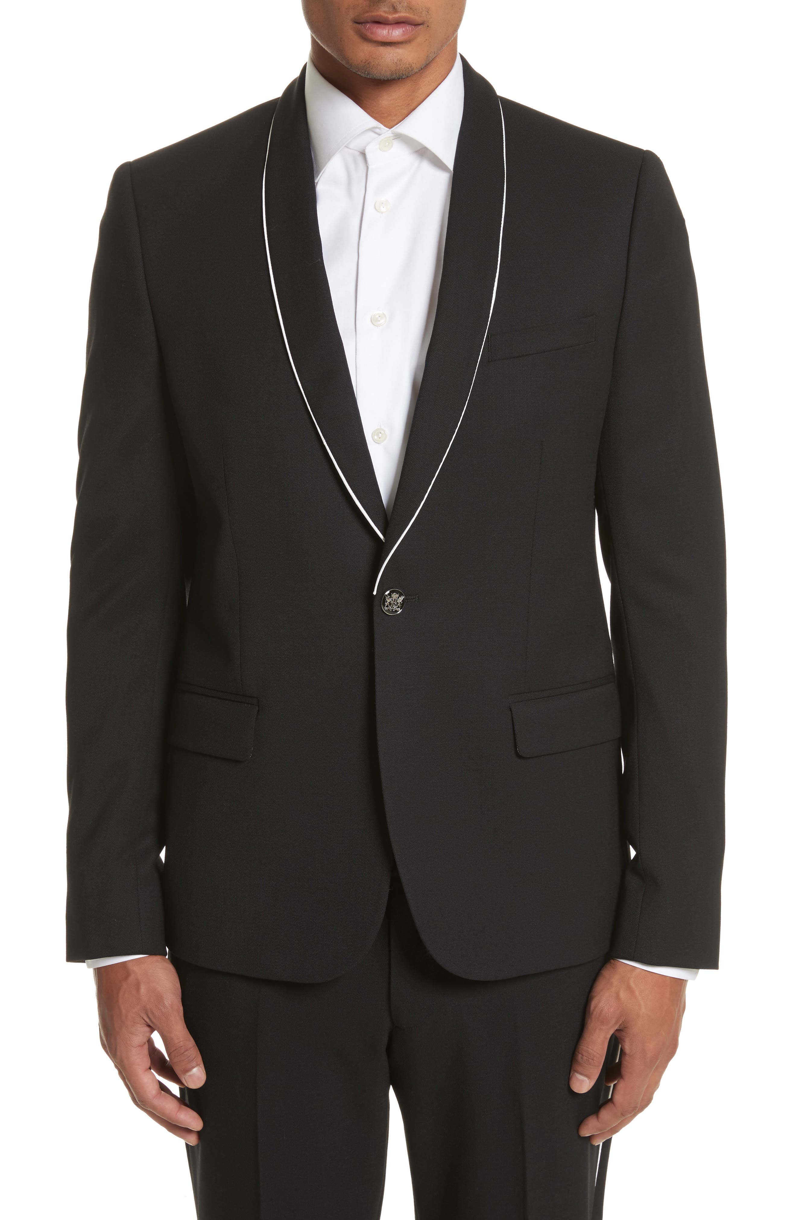 The Kooples Piped Suit Jacket