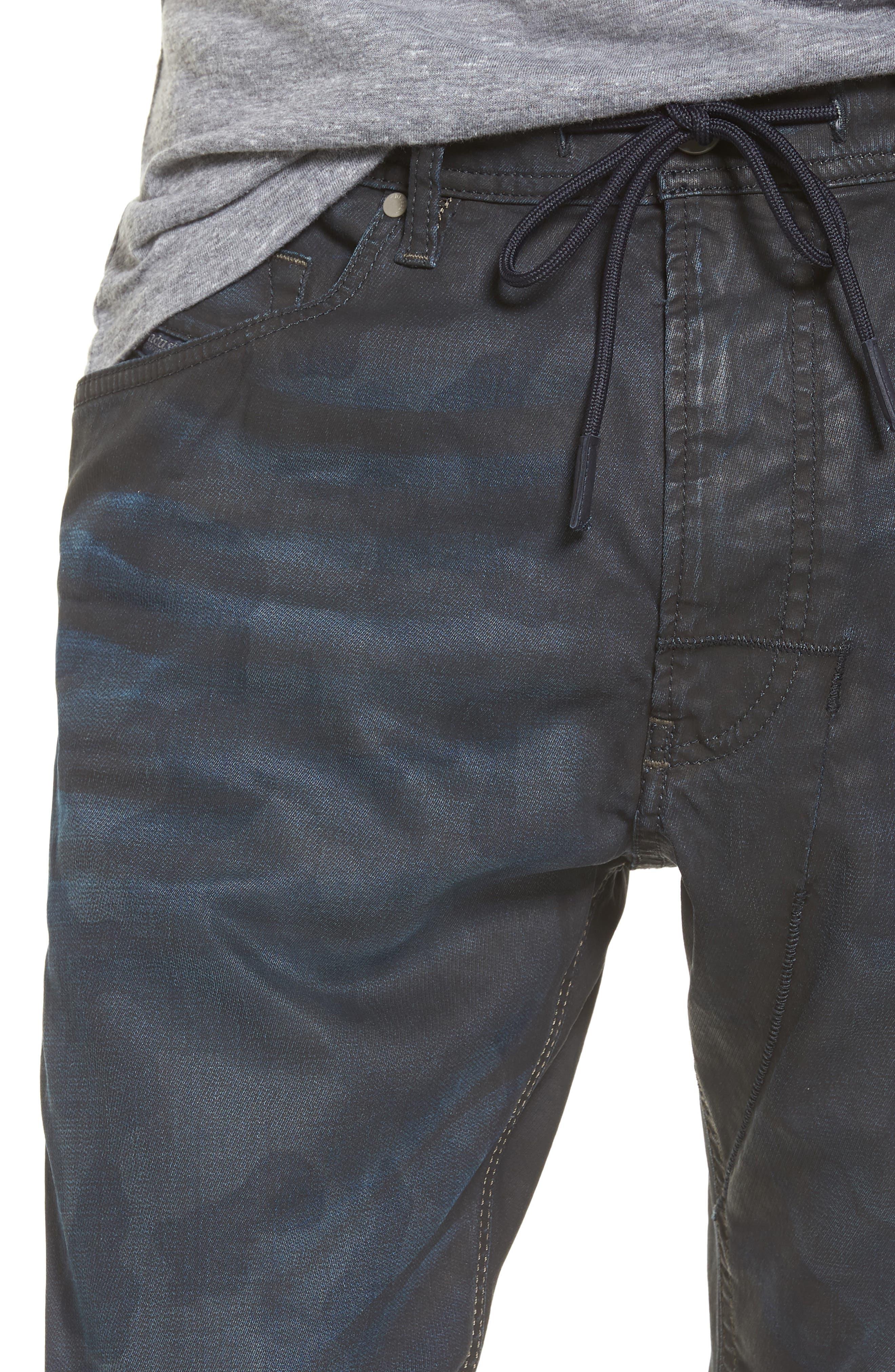 Alternate Image 4  - DIESEL® Narrot Slouchy Skinny Fit Jeans