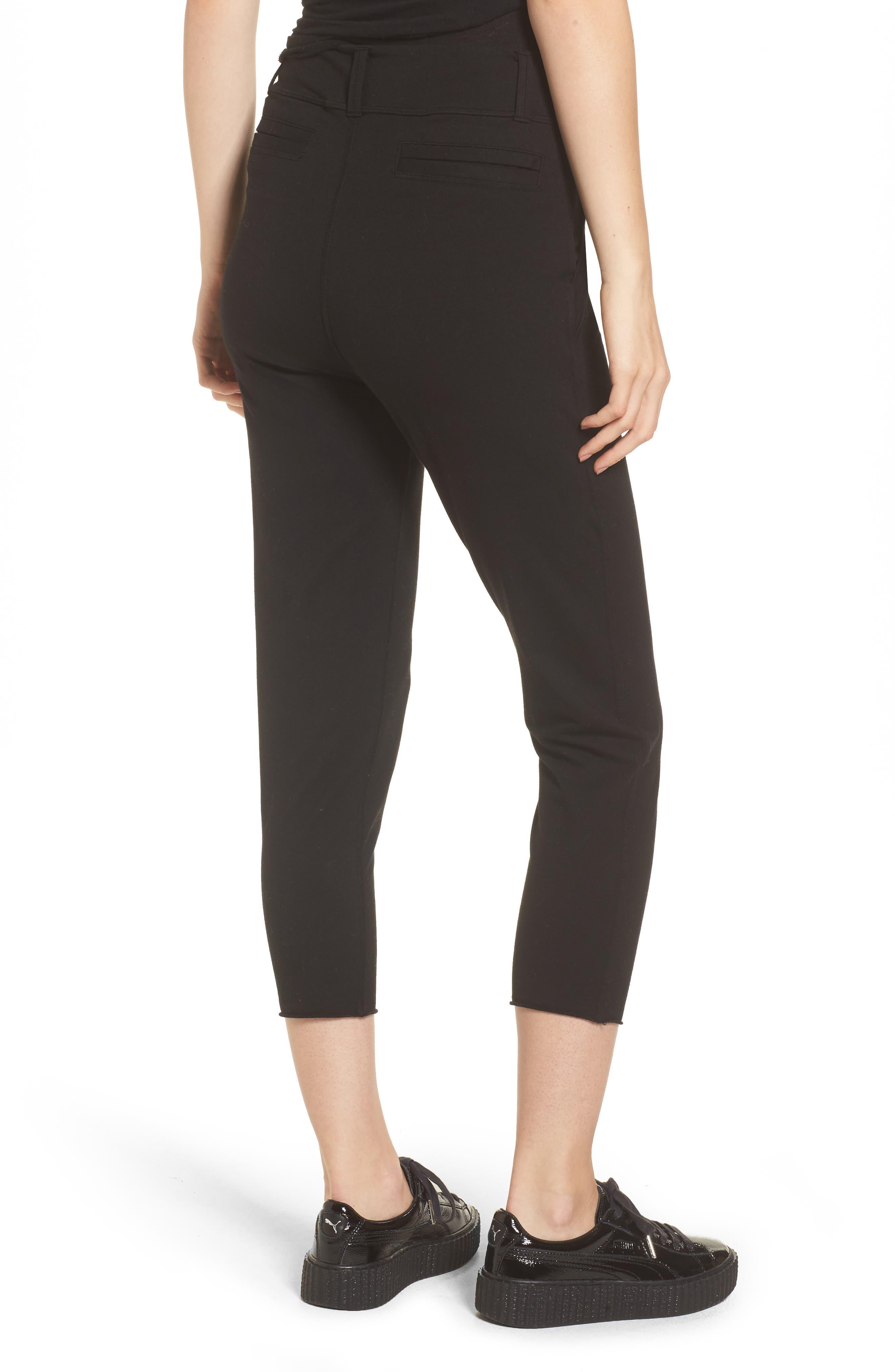 The Trouser Knit Pants,                             Alternate thumbnail 2, color,                             Blackout