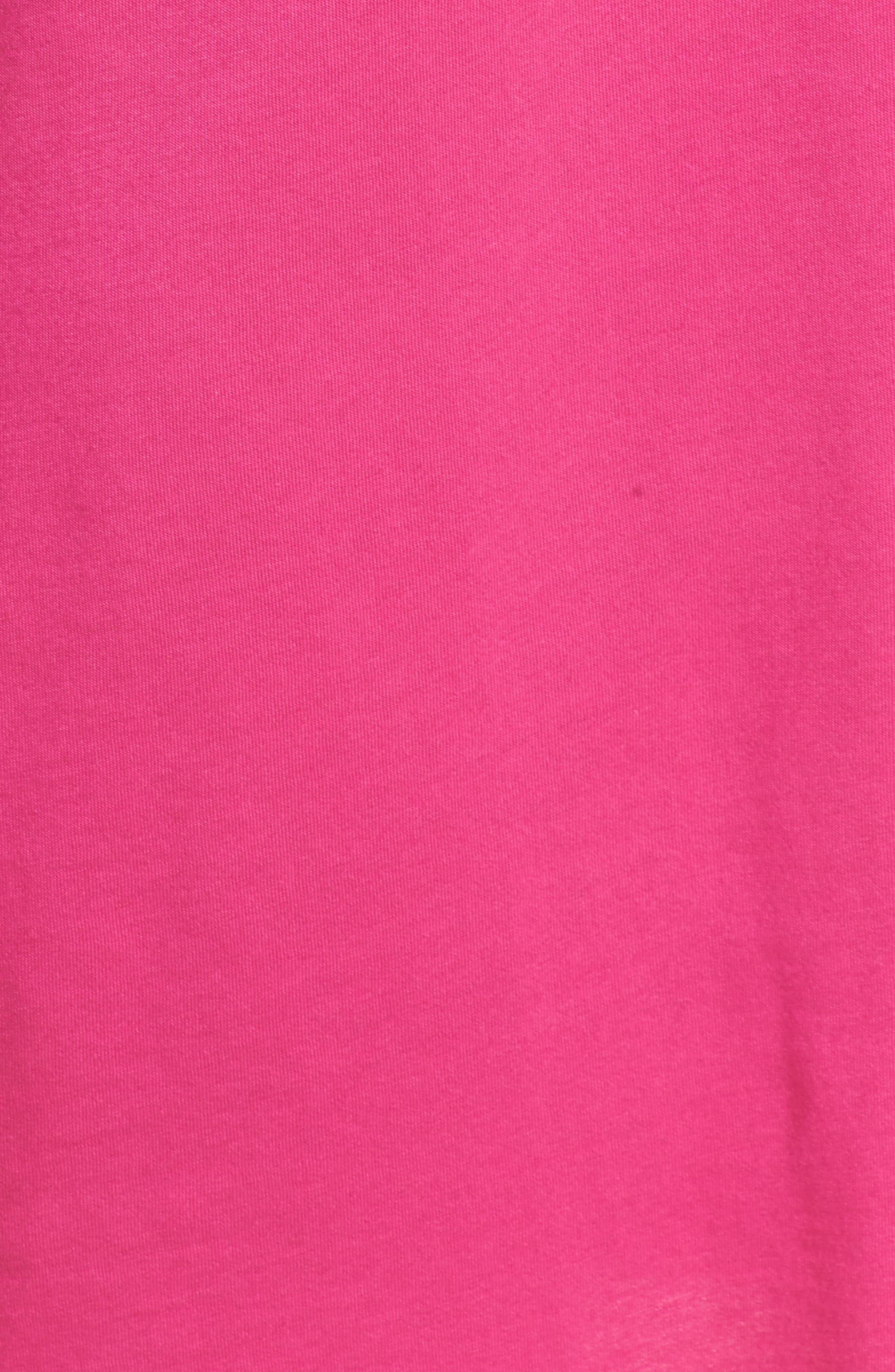 Alternate Image 5  - Lauren Ralph Lauren Knit Nightshirt (Online Only)