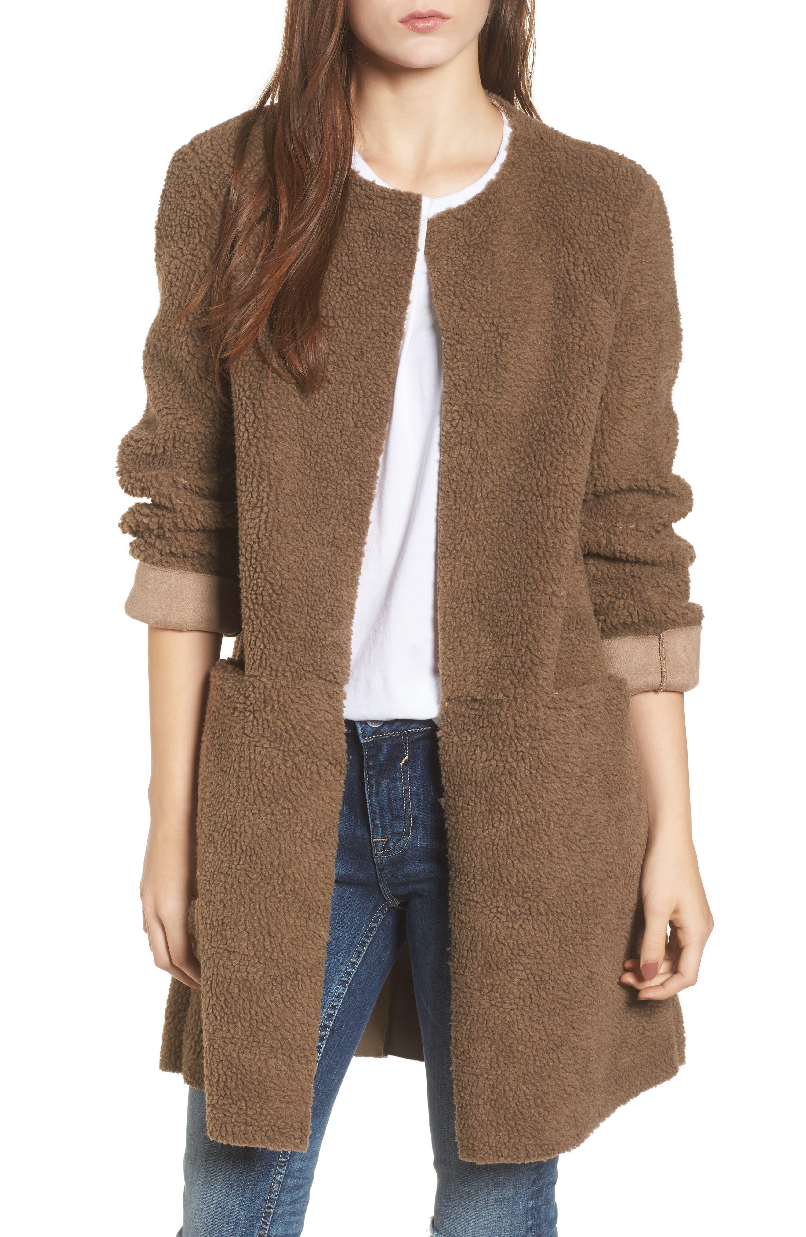 Main Image - EVIDNT Reversible Fleece Jacket