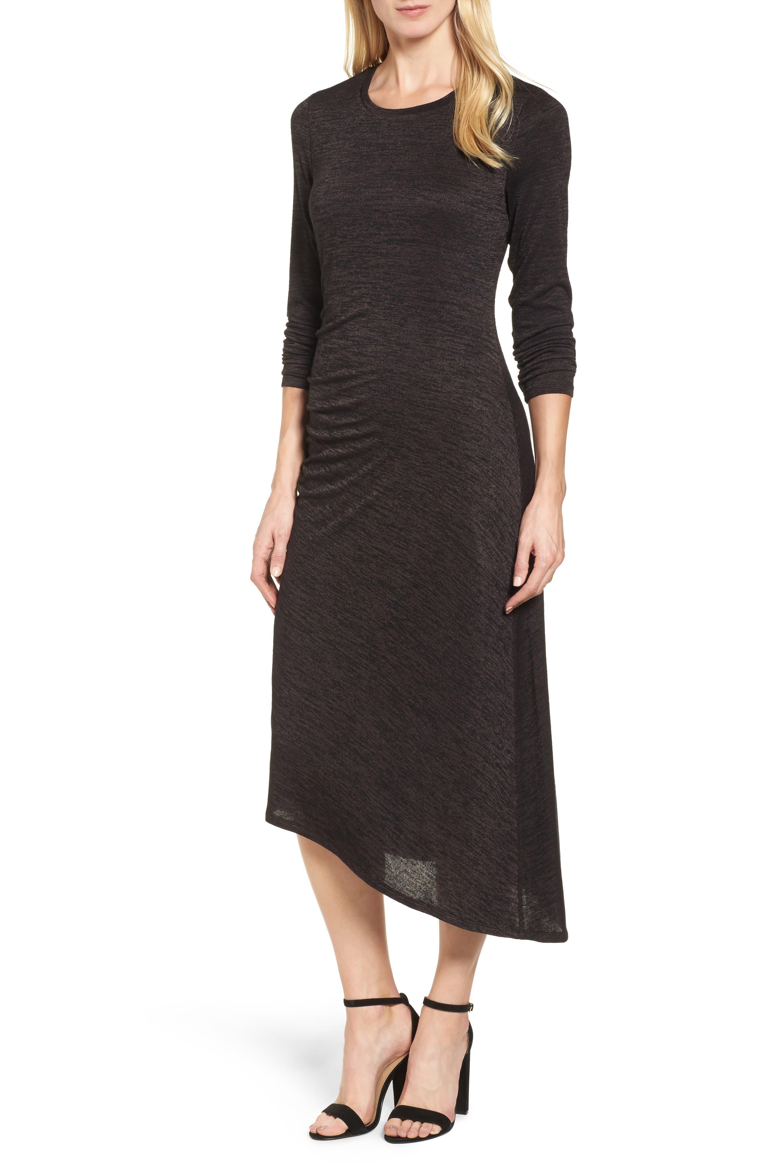 Alternate Image 1 Selected - NIC+ZOE Firelight Midi Dress (Regular & Petite)