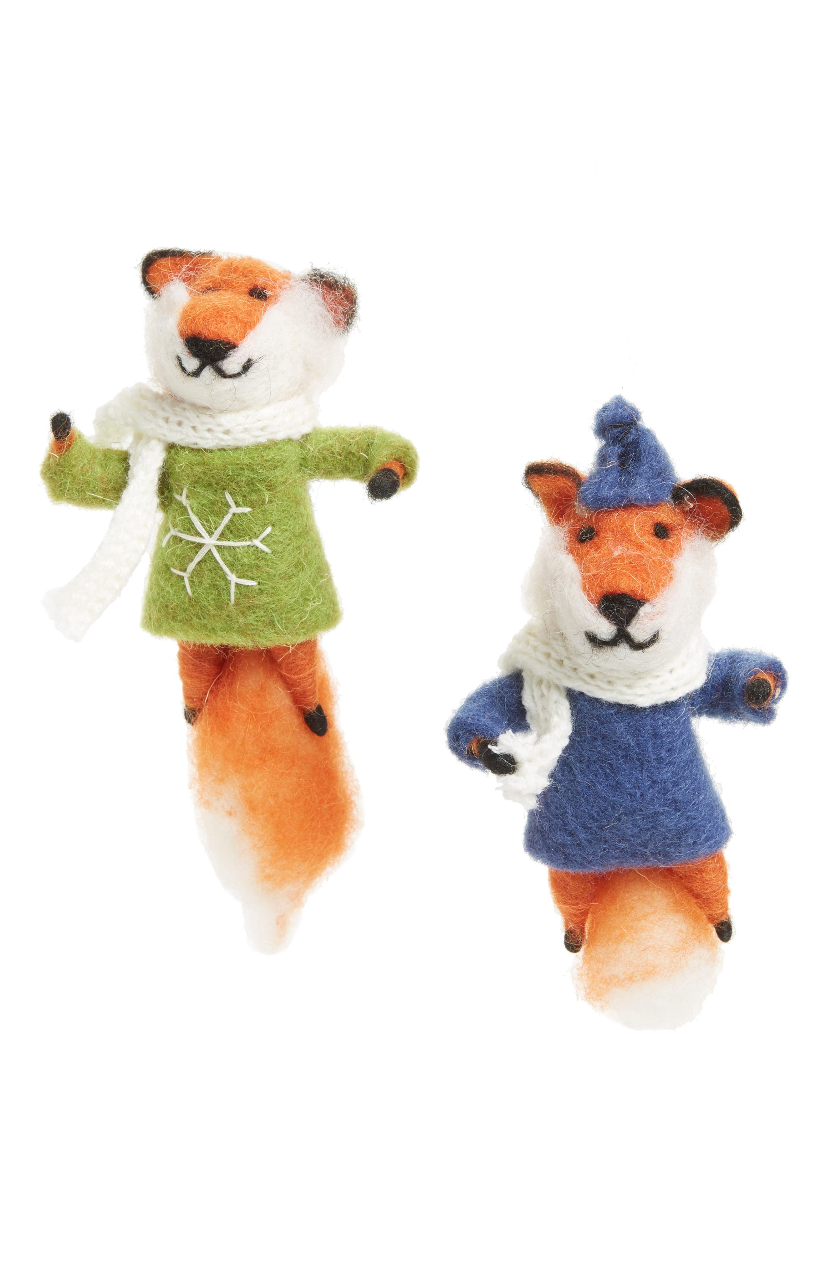 Nordstrom at Home Perfect Pair Set of 2 Ornaments
