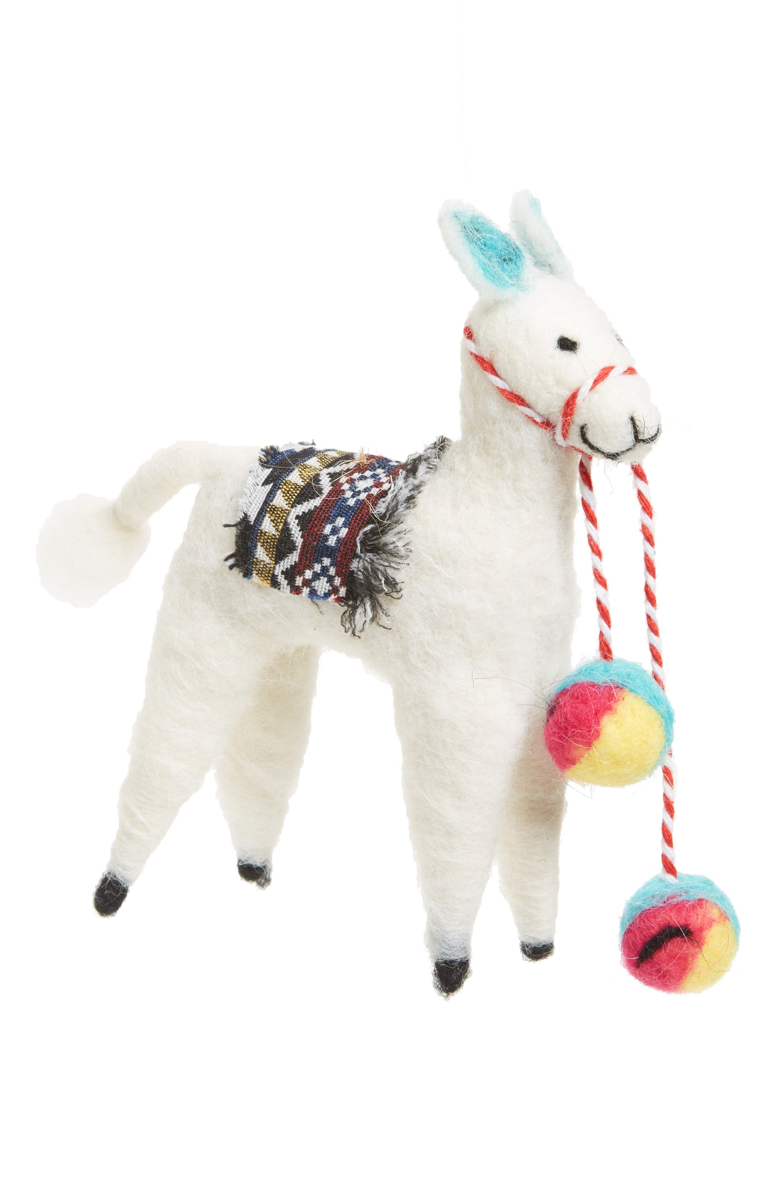 Nordstrom at Home Llama Felt Ornament