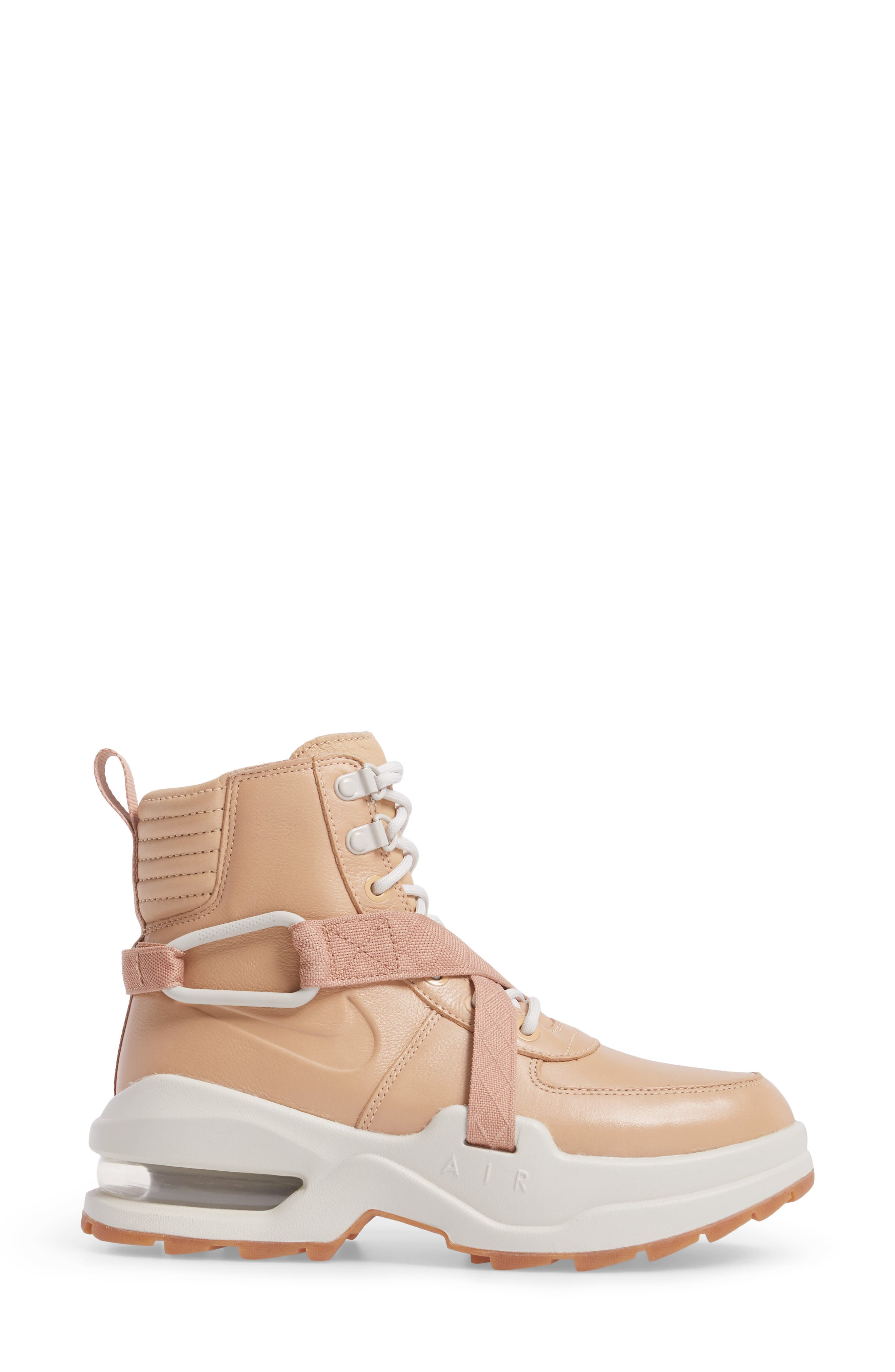Air Max Goadome Sneaker Boot,                             Alternate thumbnail 3, color,                             Tan/ Tan/ Light Bone/ Clay