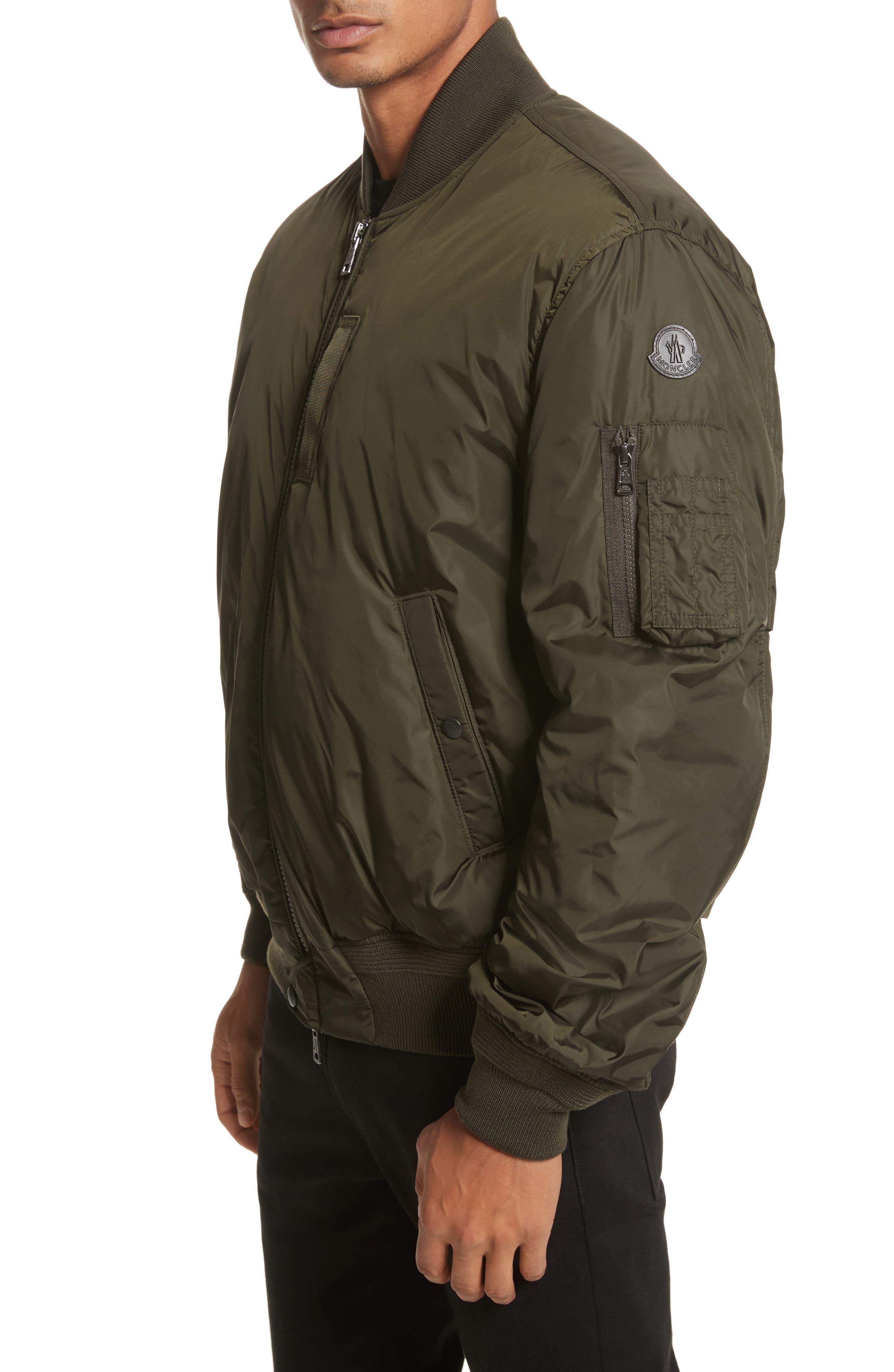 Allix Down Bomber Jacket,                         Main,                         color, Olive