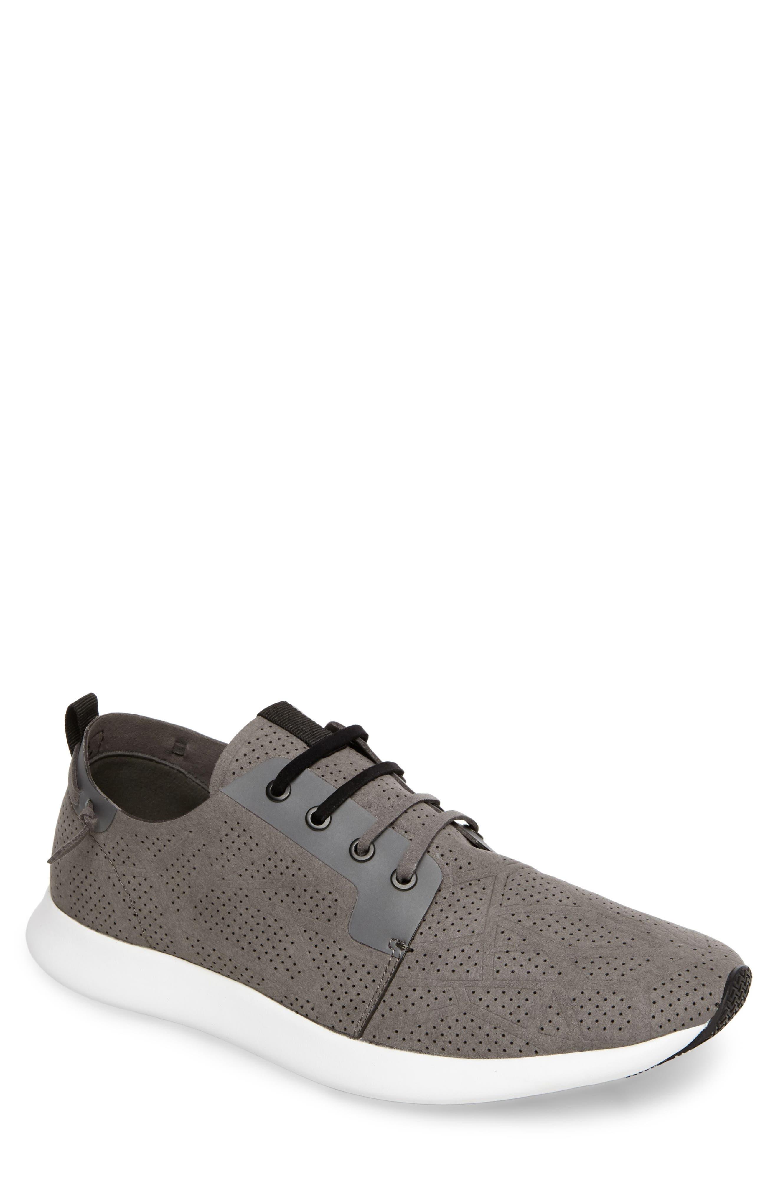 Steve Madden Batali Perforated Sneaker (Men)