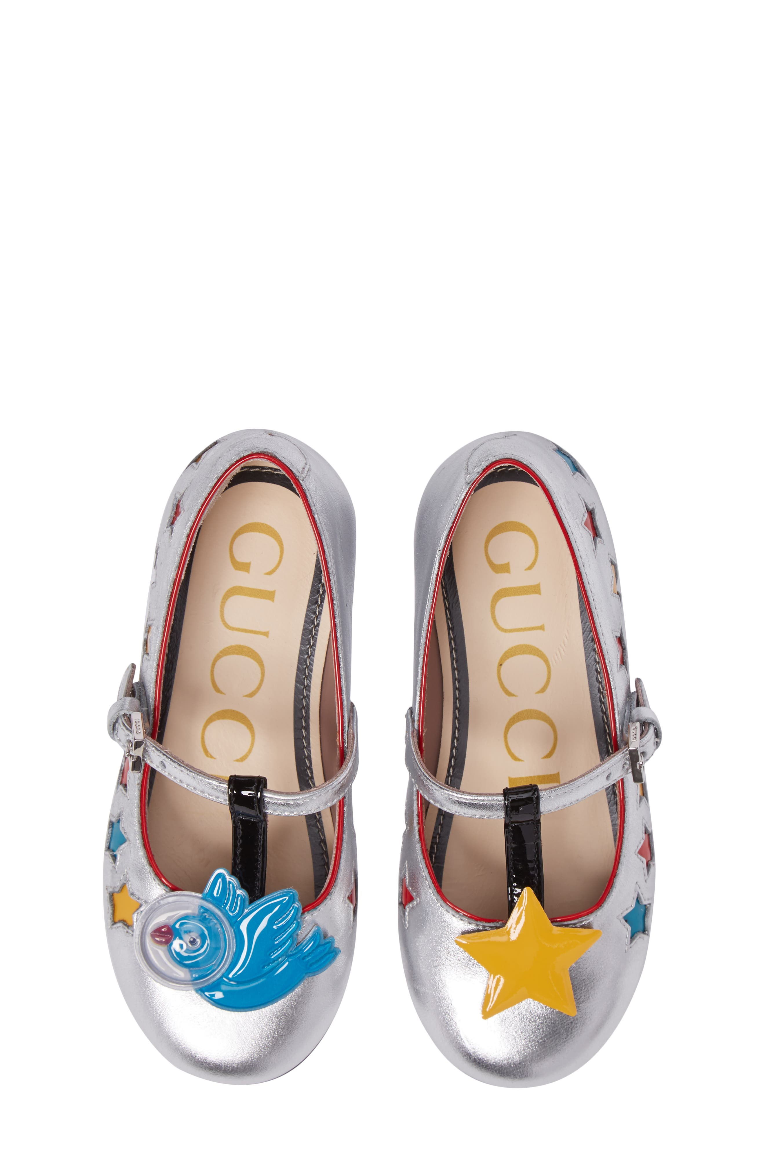 Alternate Image 1 Selected - Gucci Stellar Mary Jane (Baby, Walker & Toddler)
