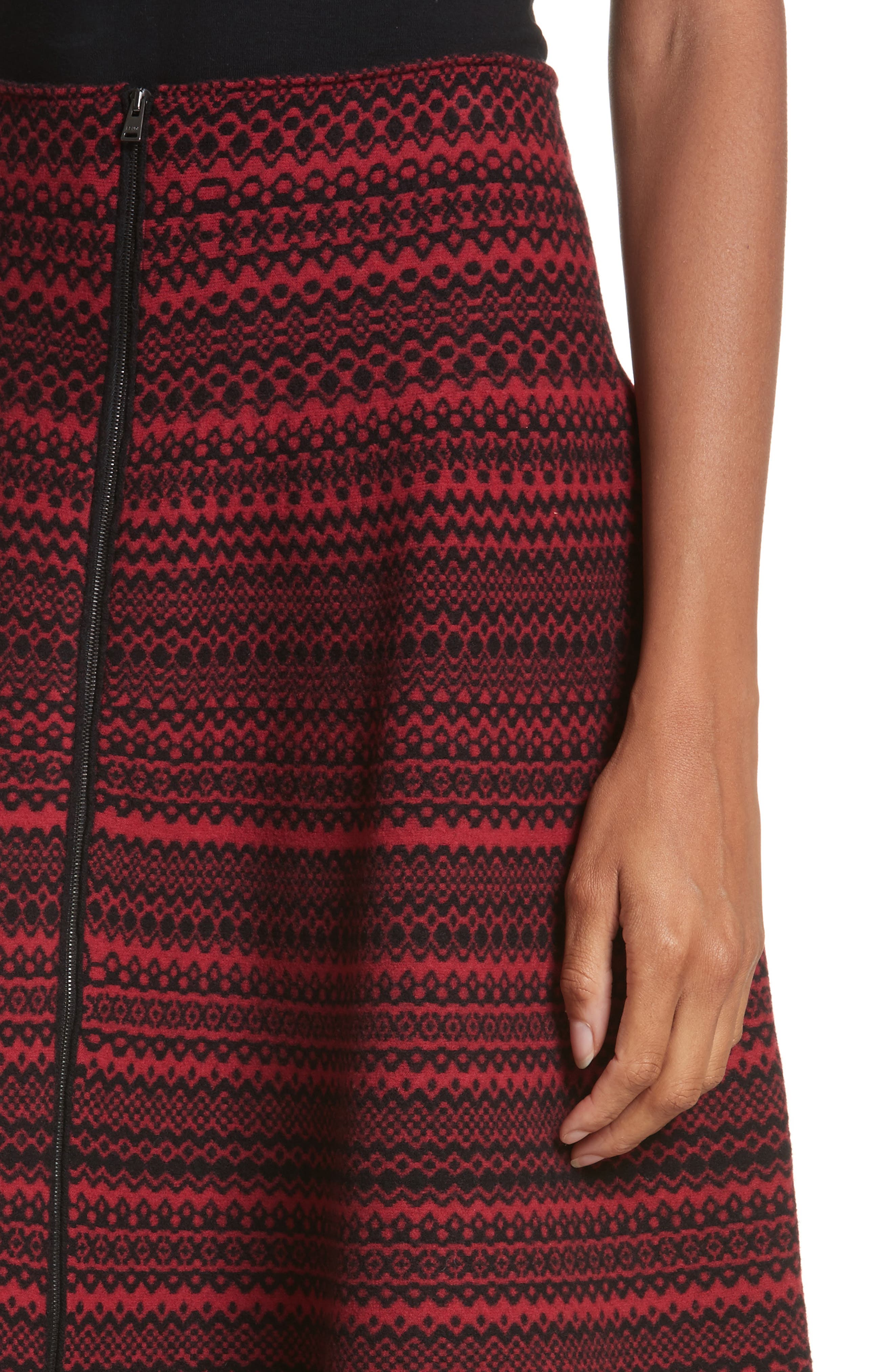 Alternate Image 4  - Fendi Fair Isle Wool Blend Skirt