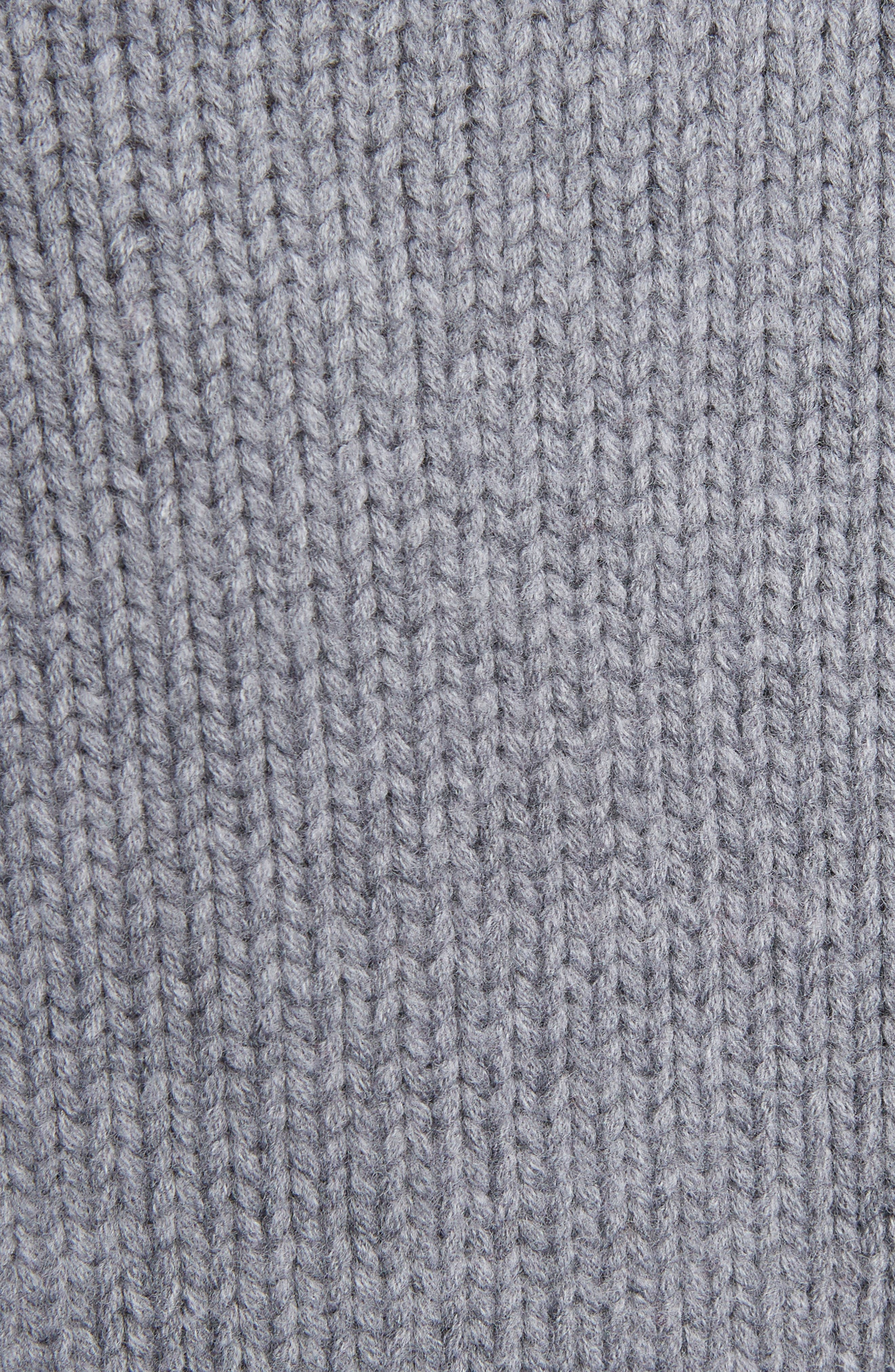 Alternate Image 5  - Alexander McQueen Zip Sleeve Wool Argyle Sweater