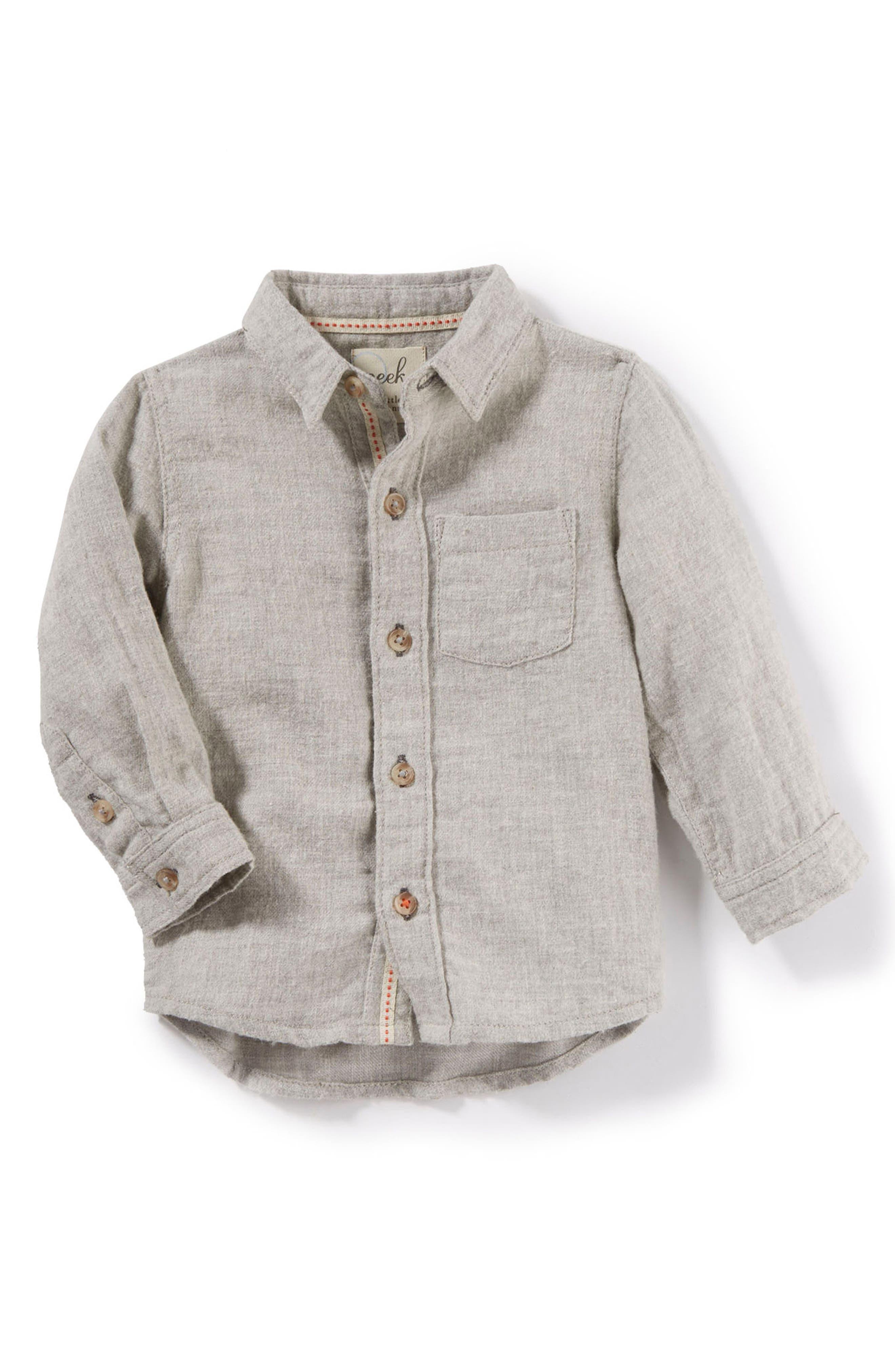 Peek Colin Flannel Shirt (Baby Boys)