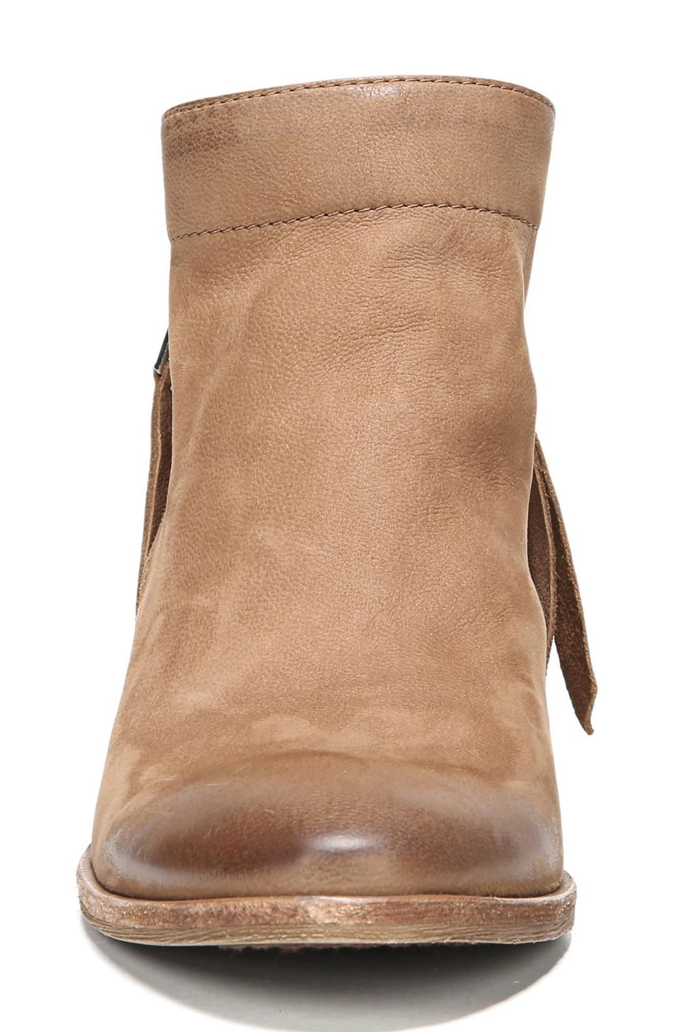 Packer Bootie,                             Alternate thumbnail 4, color,                             Deep Saddle Leather