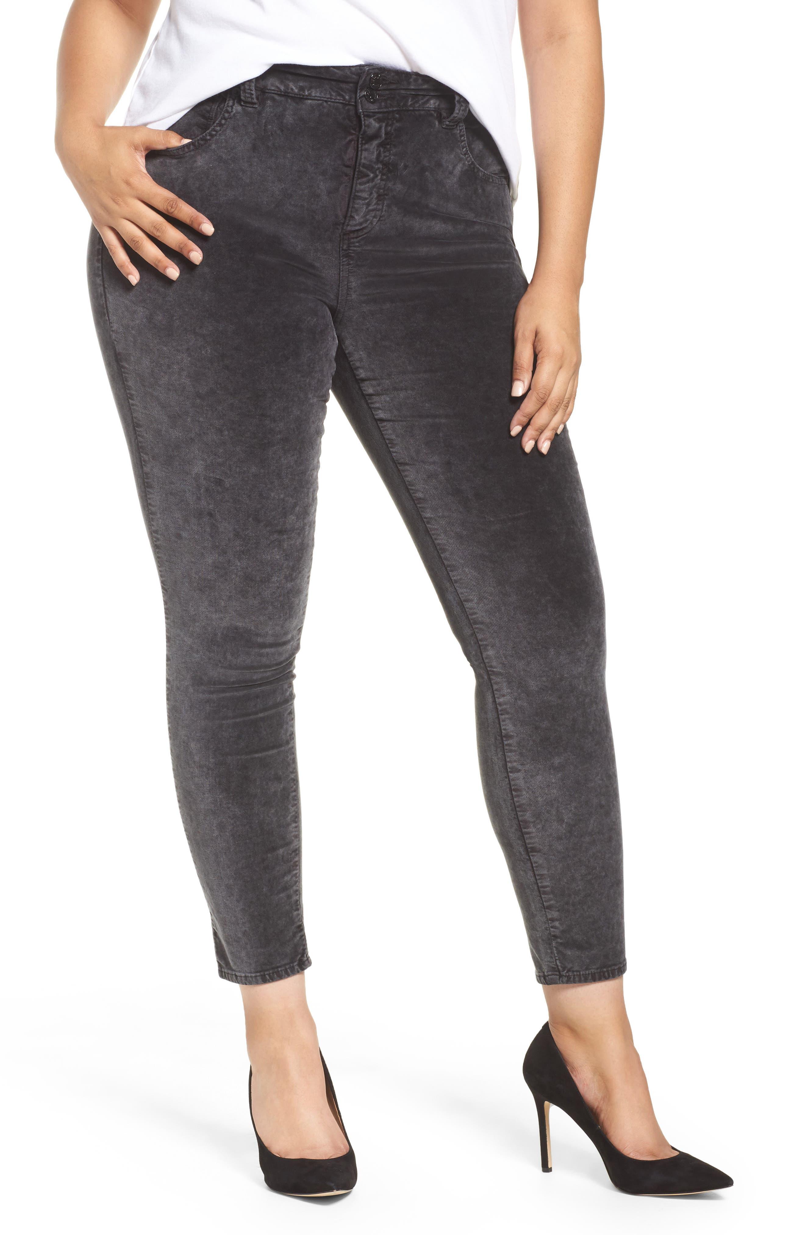 Main Image - Lucky Brand Emma Legging Jeans (Parkman) (Plus Size)