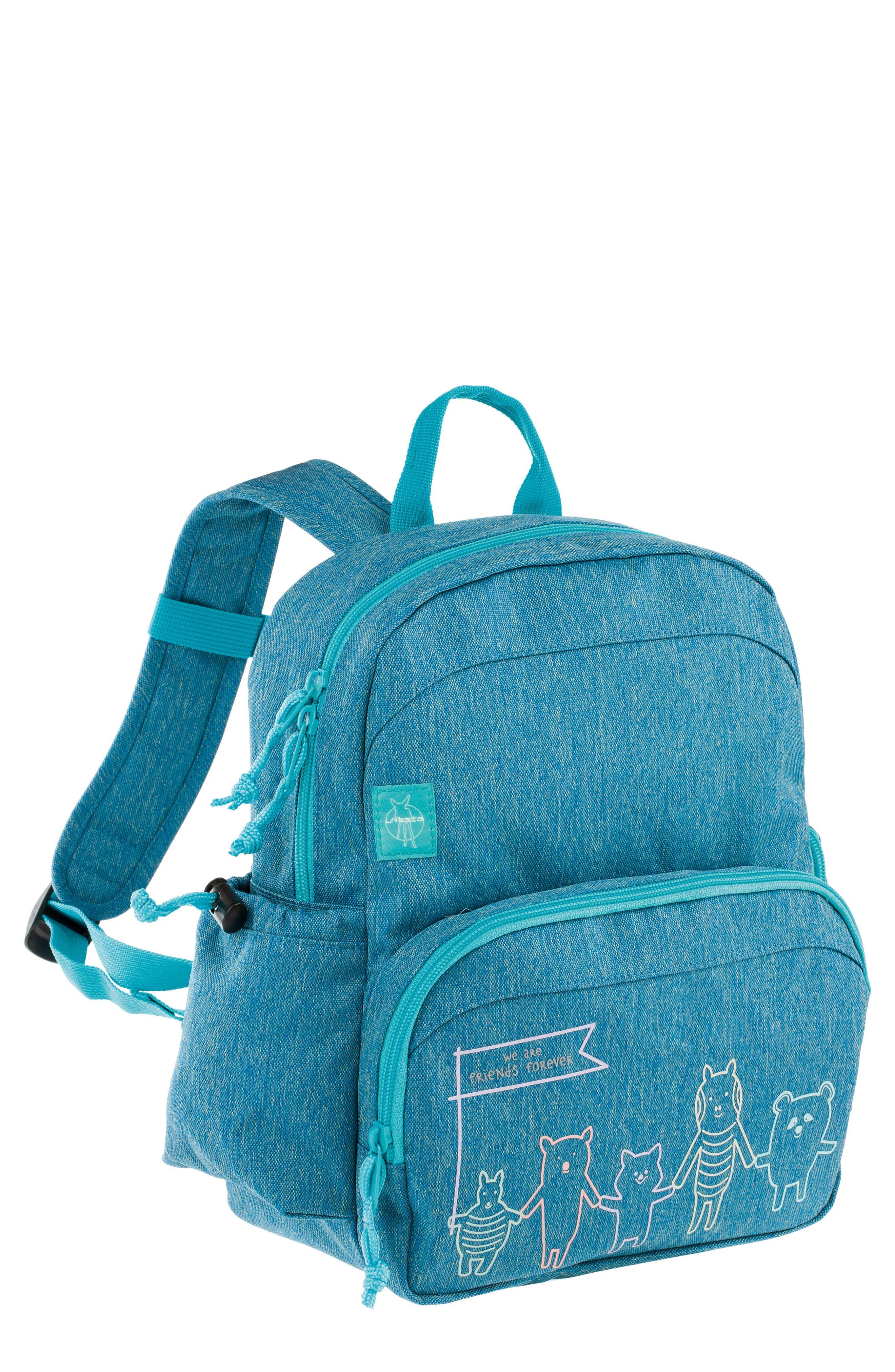 Medium About Friends Backpack,                         Main,                         color, Melange Blue